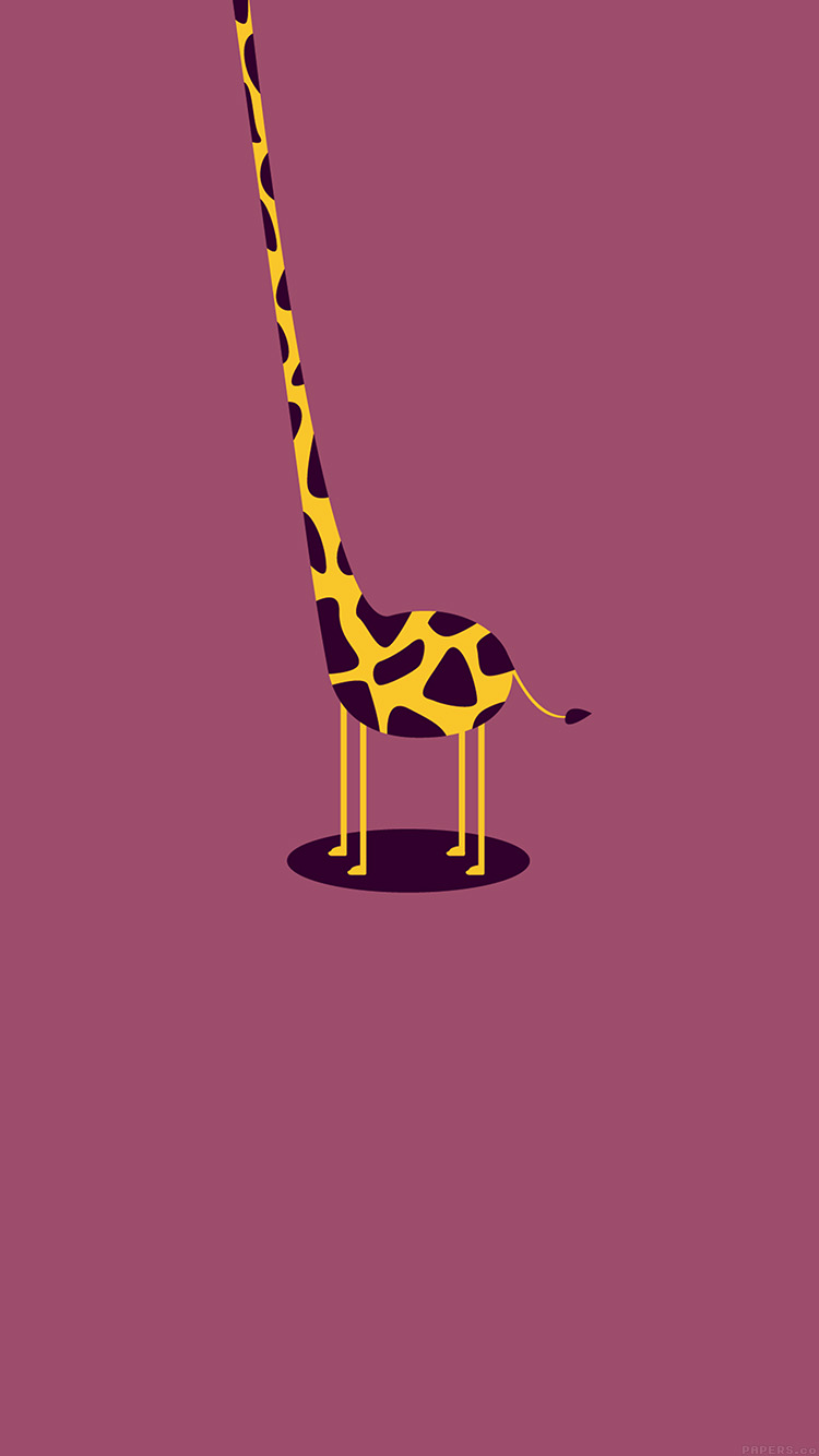 iPhone6papers.co-Apple-iPhone-6-iphone6-plus-wallpaper-ag51-giraffe-cute-minimal-simple