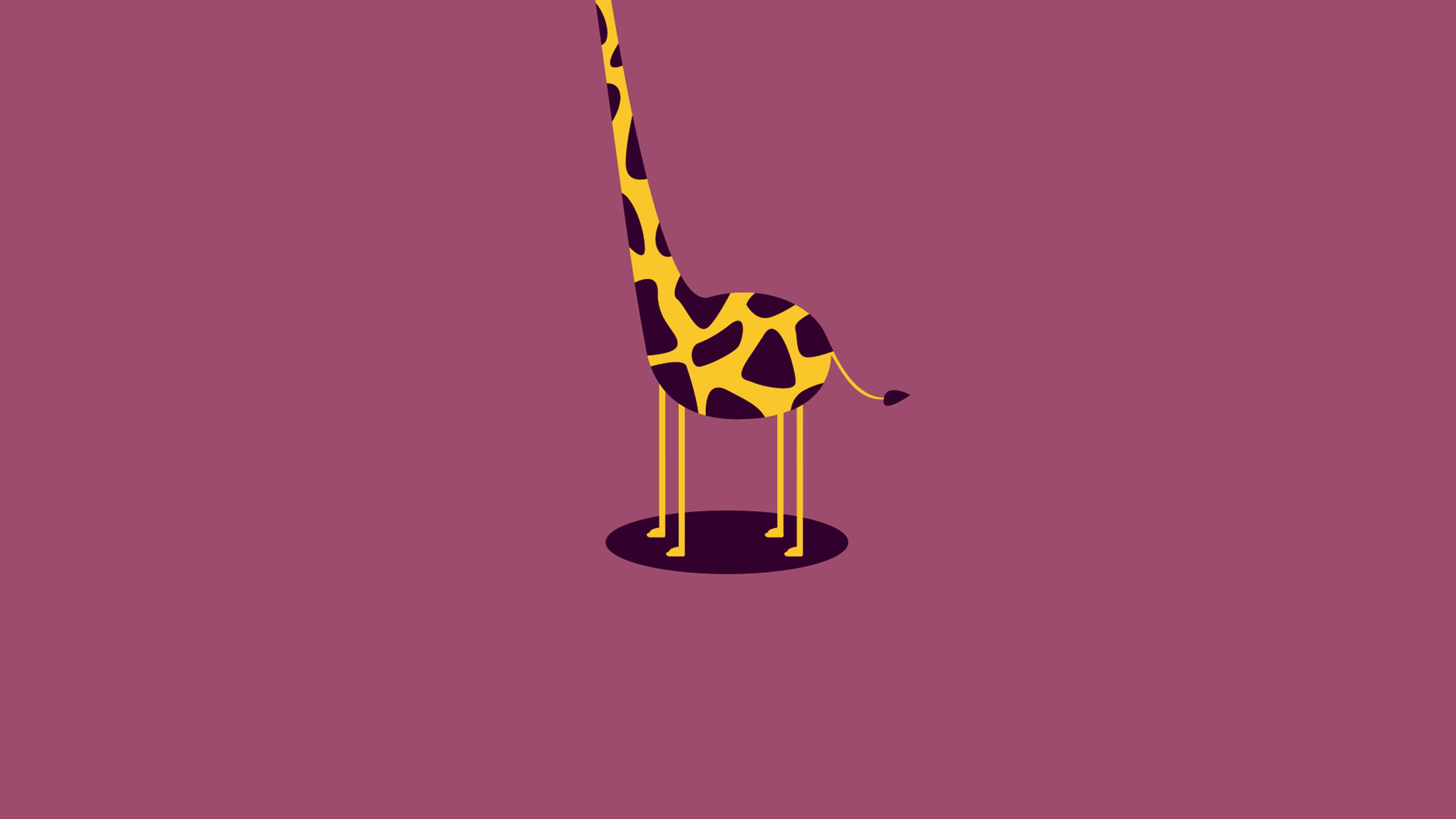 ag51-giraffe-cute-minimal-simple - Papers.co