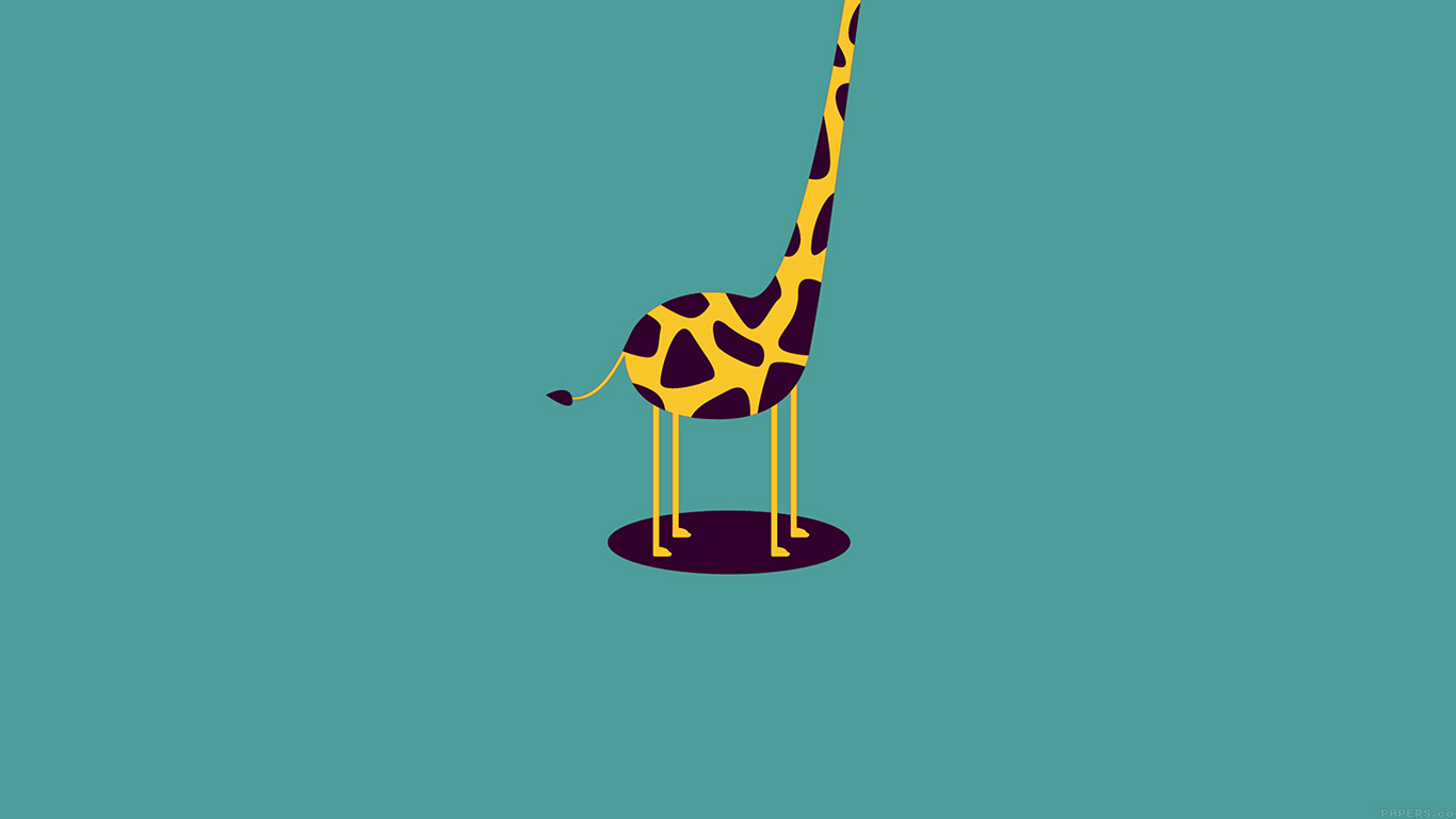 desktop-wallpaper-laptop-mac-macbook-air-ag52-giraffe-cute-blue-minimal-simple-wallpaper