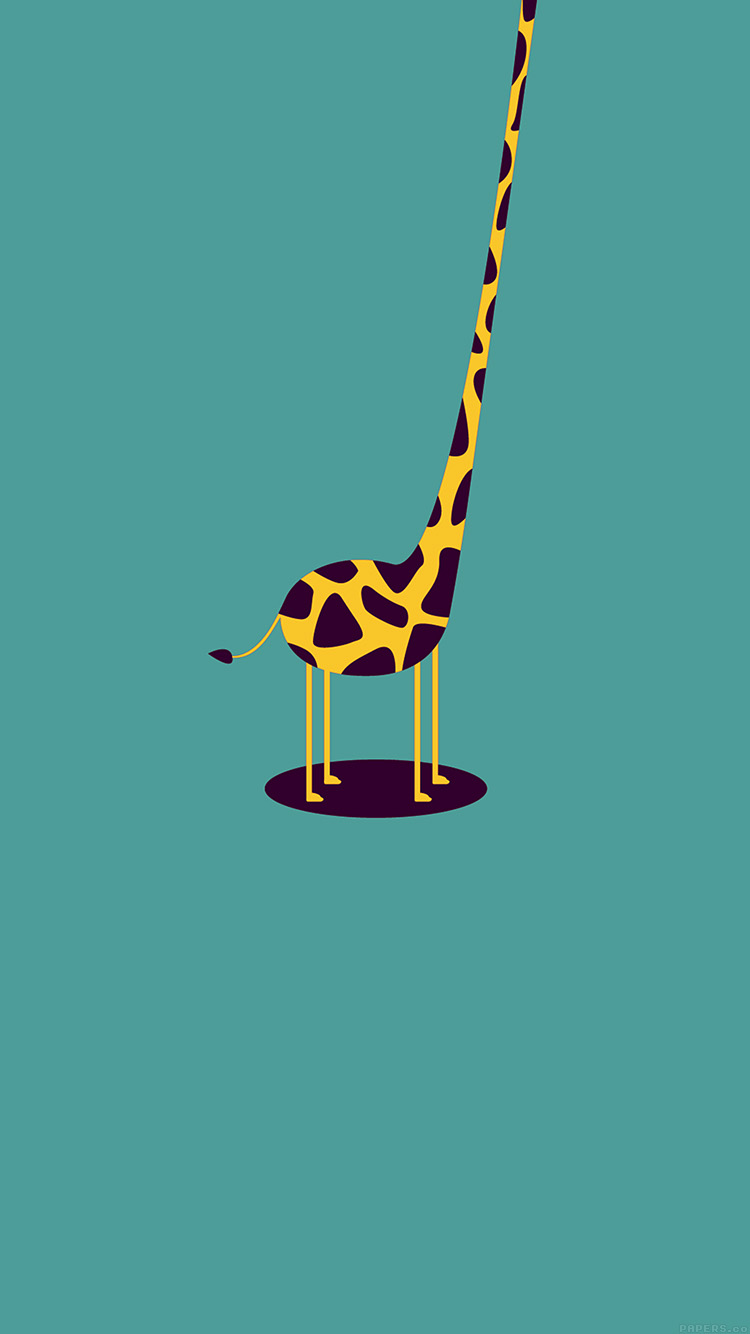 iPhone6papers.co-Apple-iPhone-6-iphone6-plus-wallpaper-ag52-giraffe-cute-blue-minimal-simple