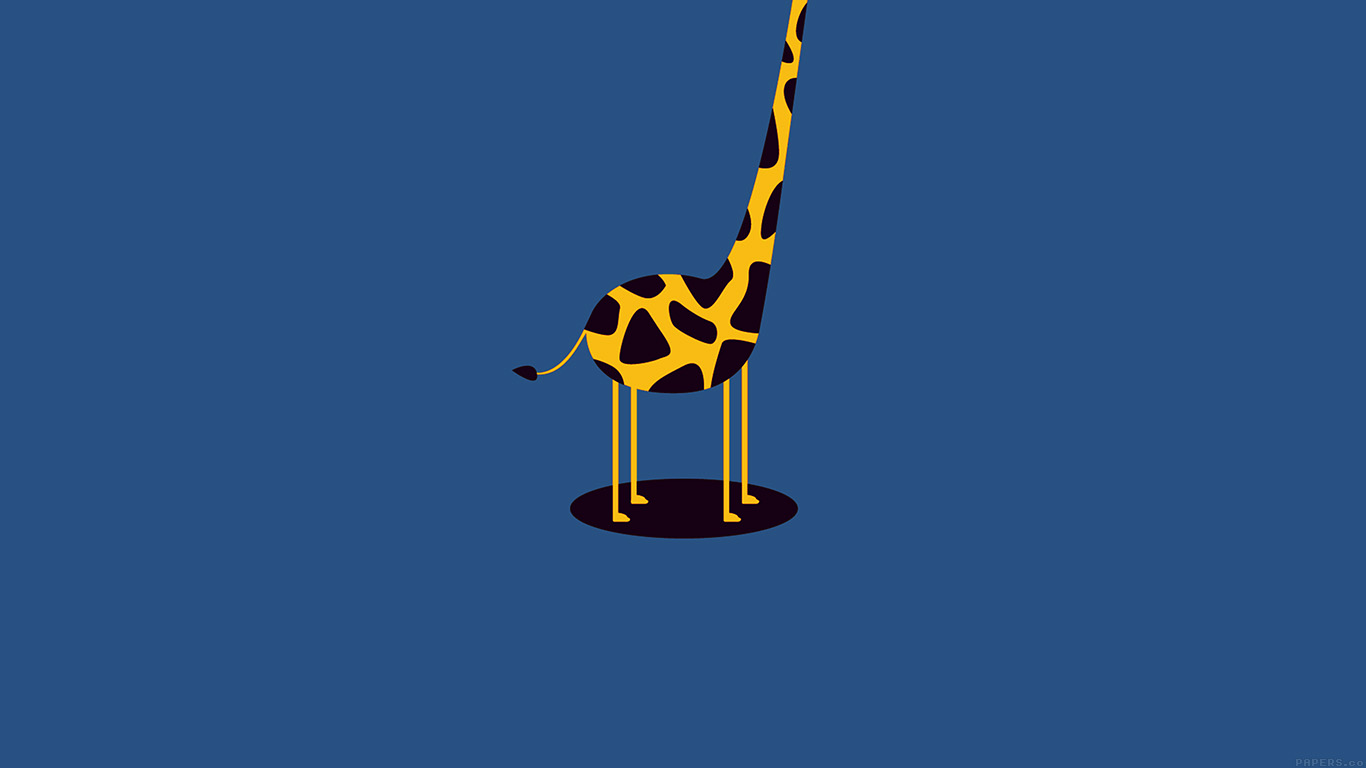 desktop-wallpaper-laptop-mac-macbook-airag53-giraffe-cute-blue-tall-minimal-simple-wallpaper