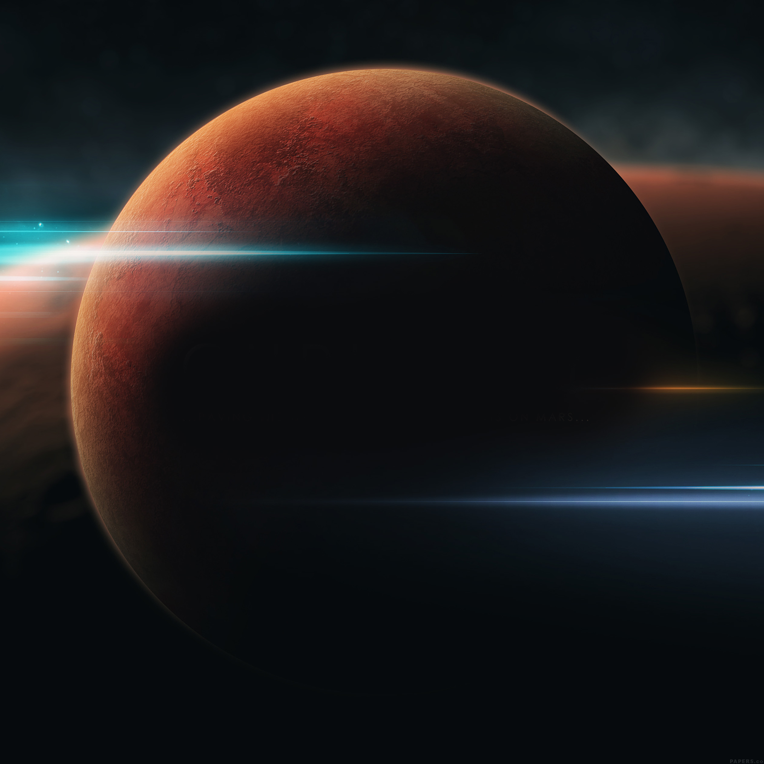 FREEIOS7 | ag63-universe-nasa-mars-space-planet-art ...