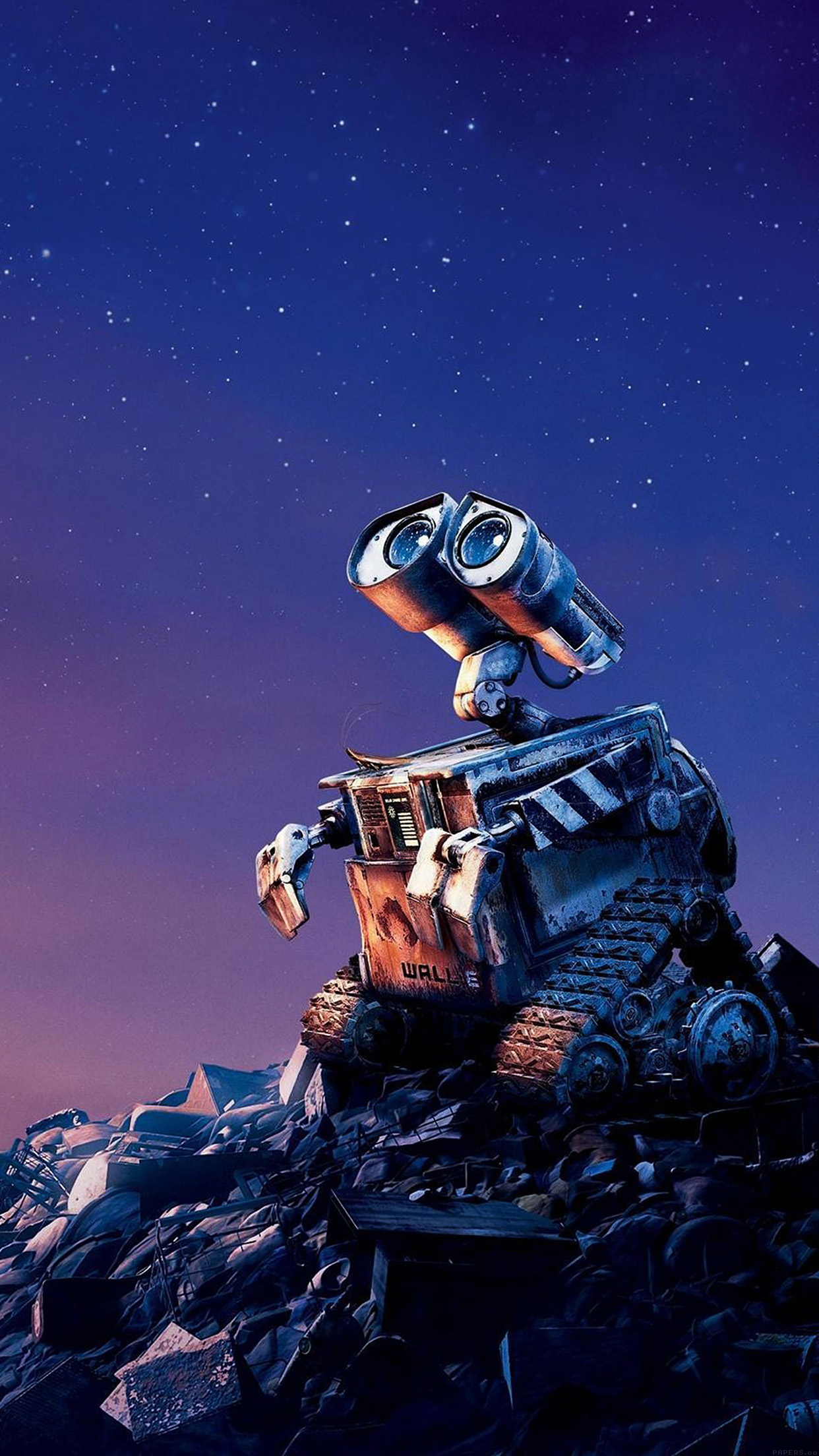 Ag66 Wall E Disney Want Go Home Art Papers Co