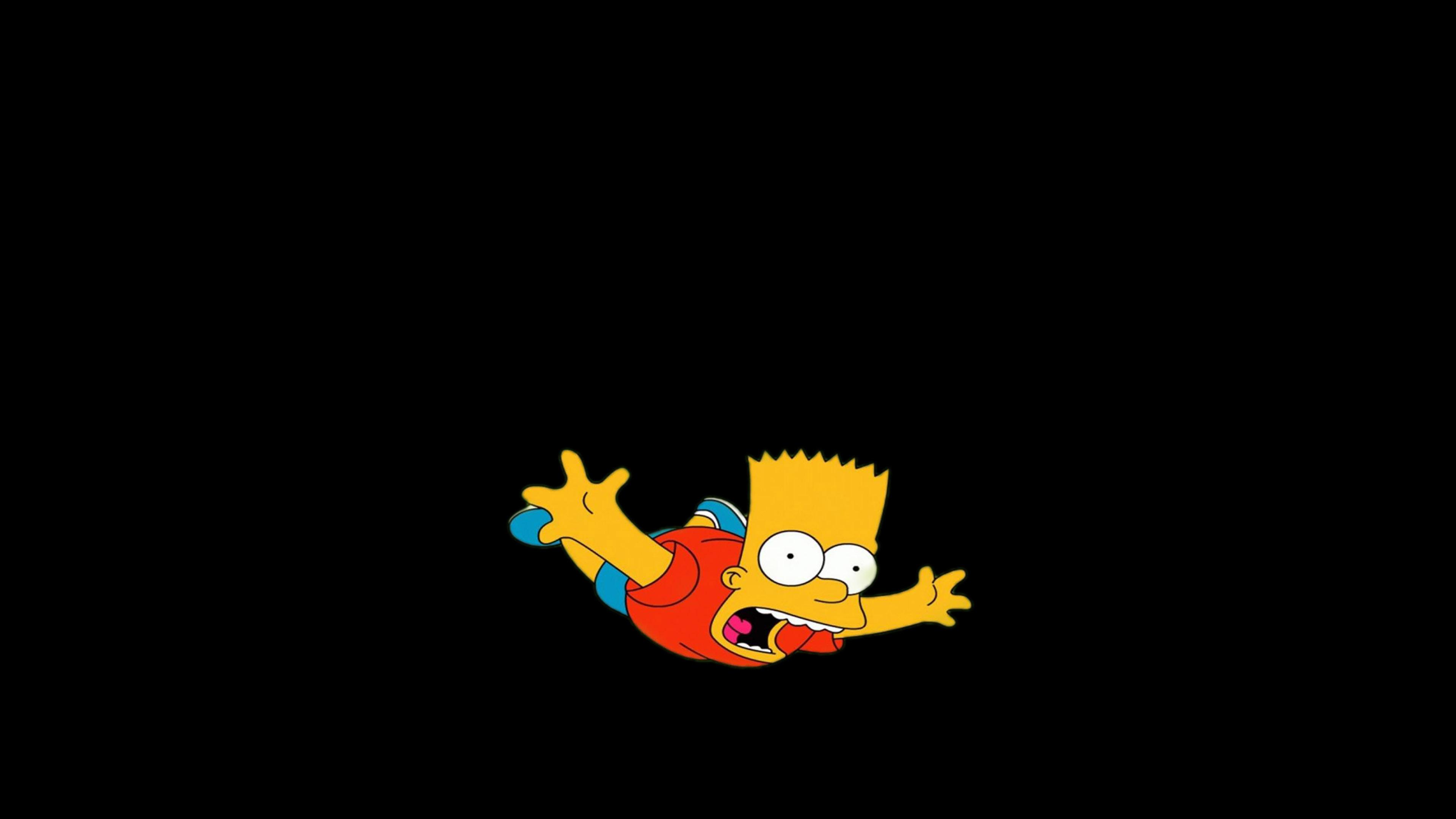 Ag70 Bart Simpson Funny Cute Illlust
