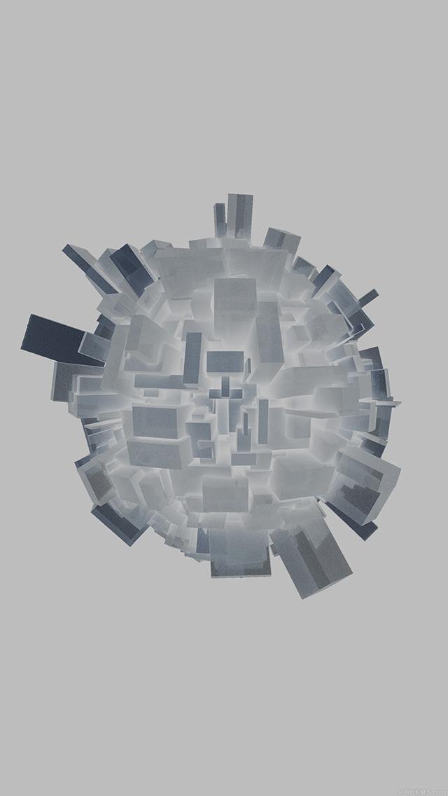 freeios8.com-iphone-4-5-6-plus-ipad-ios8-ag72-abstract-white-earth-digital-illust-art