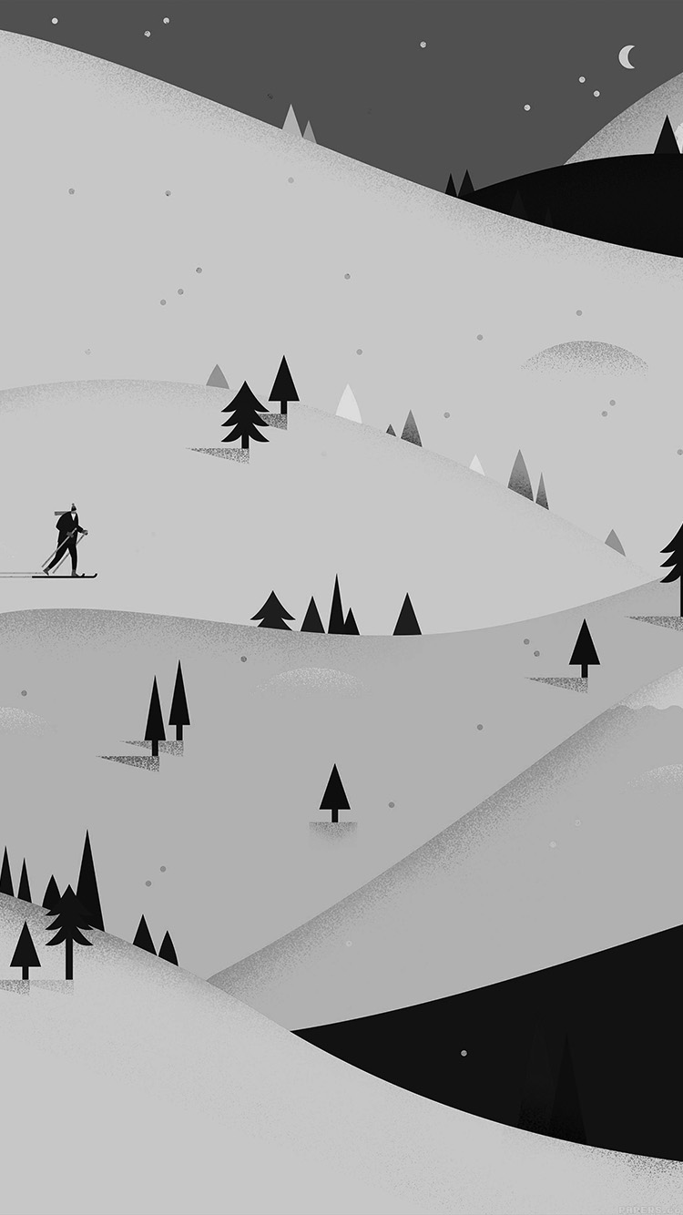illustration minimal mountain