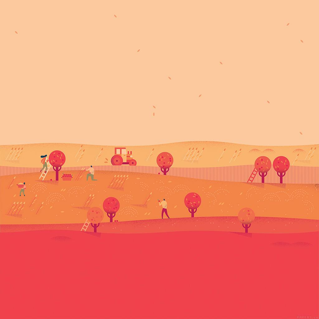 android-wallpaper-ag97-google-lollipop-october-red-illust-art-wallpaper