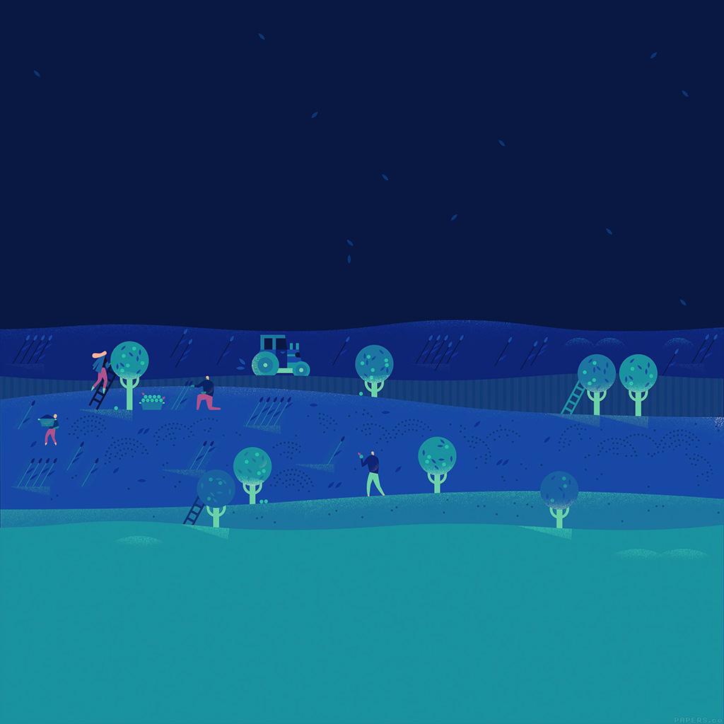 android-wallpaper-ag98-google-lollipop-october-night-illust-art-wallpaper