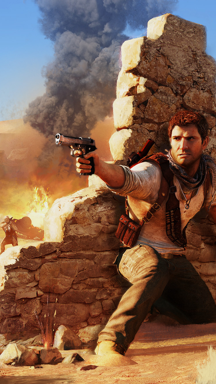 iPhone6papers.co-Apple-iPhone-6-iphone6-plus-wallpaper-ah09-drake-under-fire-uncharted-game