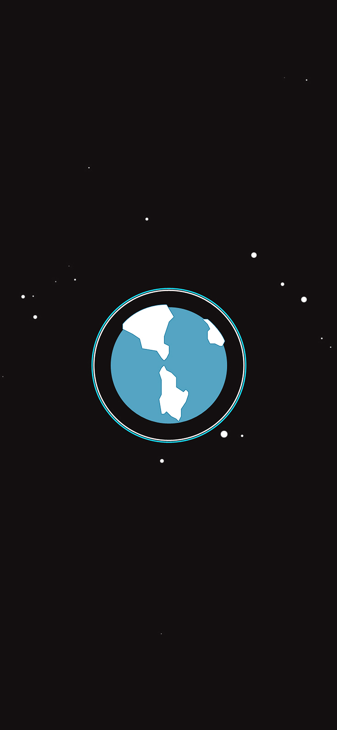 Iphonexpapers Com Iphone X Wallpaper Ah17 Earth Planet Minimal