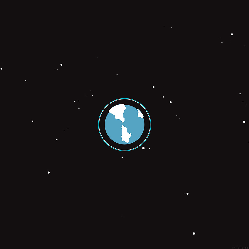 wallpaper-ah17-earth-planet-minimal-simple-illust-art-wallpaper