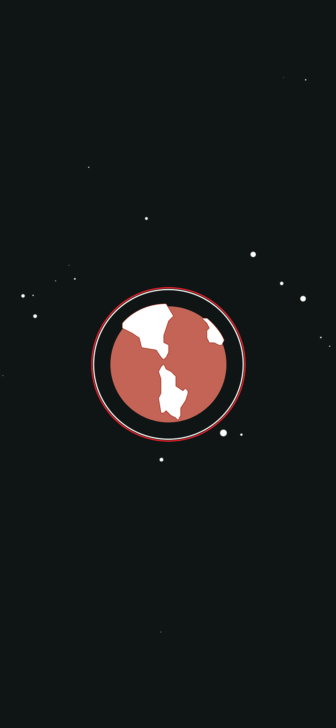 iPhoneXpapers.com-Apple-iPhone-wallpaper-ah18-earth-red-planet-minimal-simple-illust-art