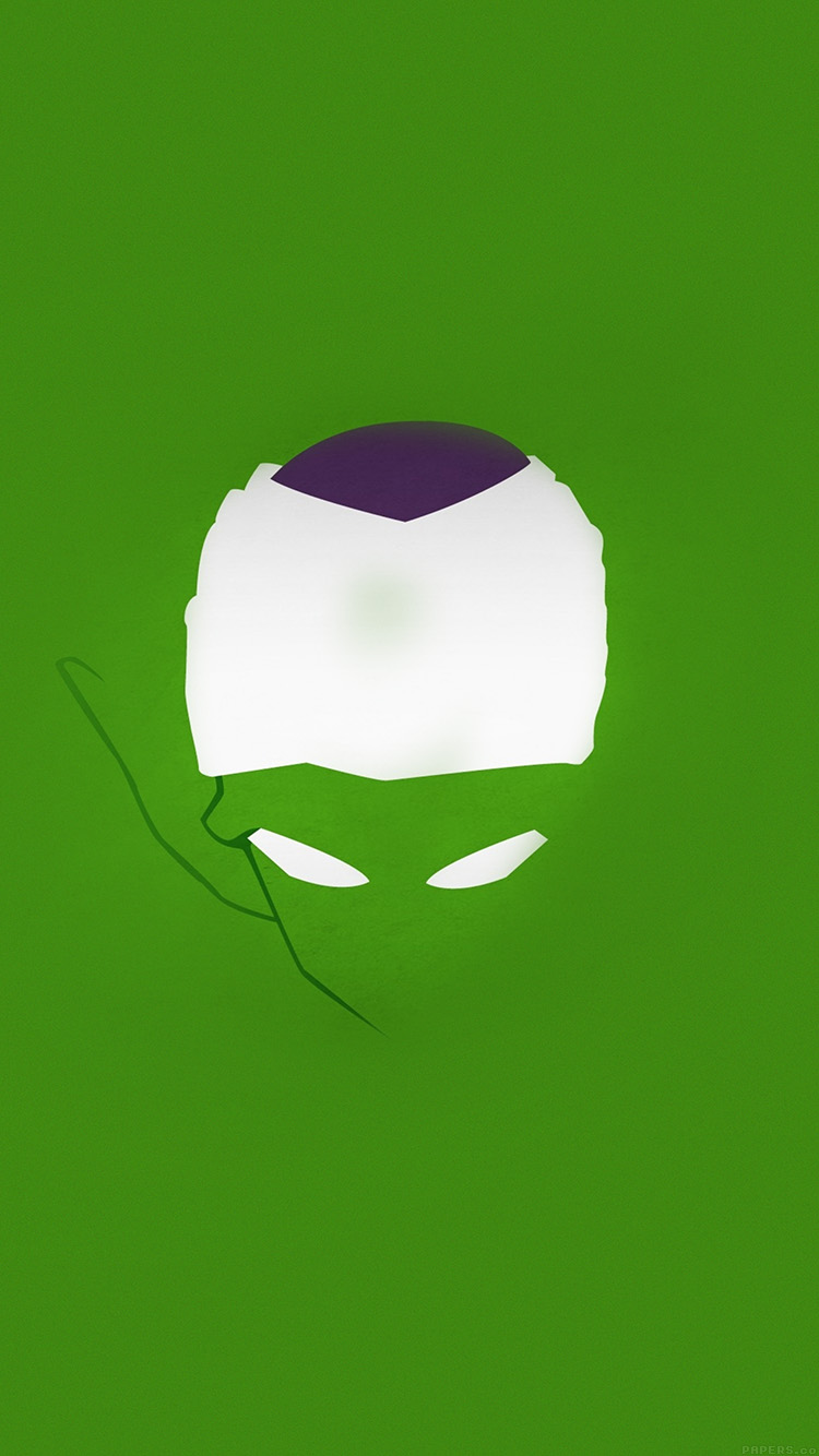 Papers.co-iPhone5-iphone6-plus-wallpaper-ah20-dragonball-z-piccolo-illust-minimal-simple