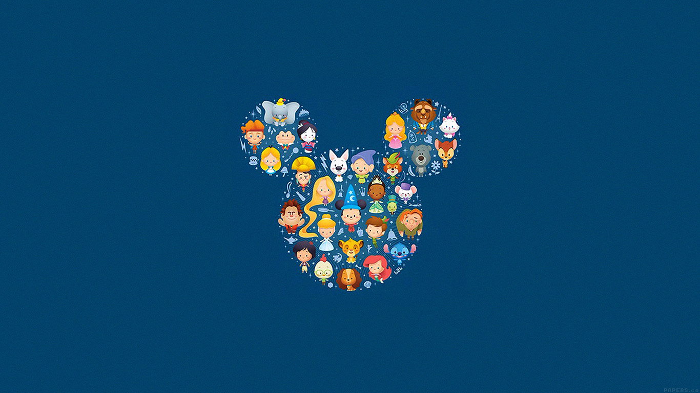 Wallpaper For Desktop Laptop Ah22 Disney Art Character Cute Illust