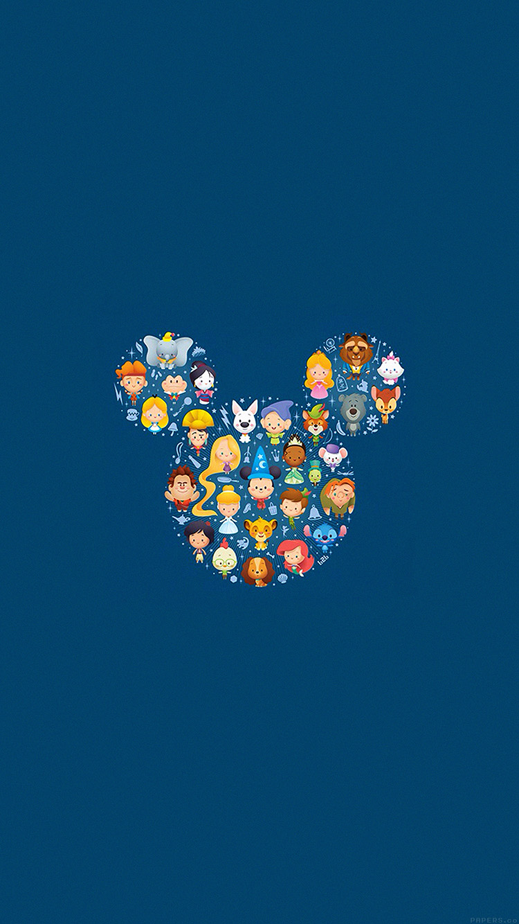 disney illustration minimal