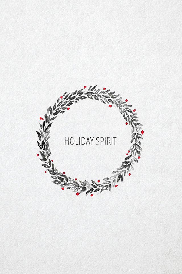 freeios7.com-iphone-4-iphone-5-ios7-wallpaperah23-holiday-spirit-minimal-christmas-art-iphone4