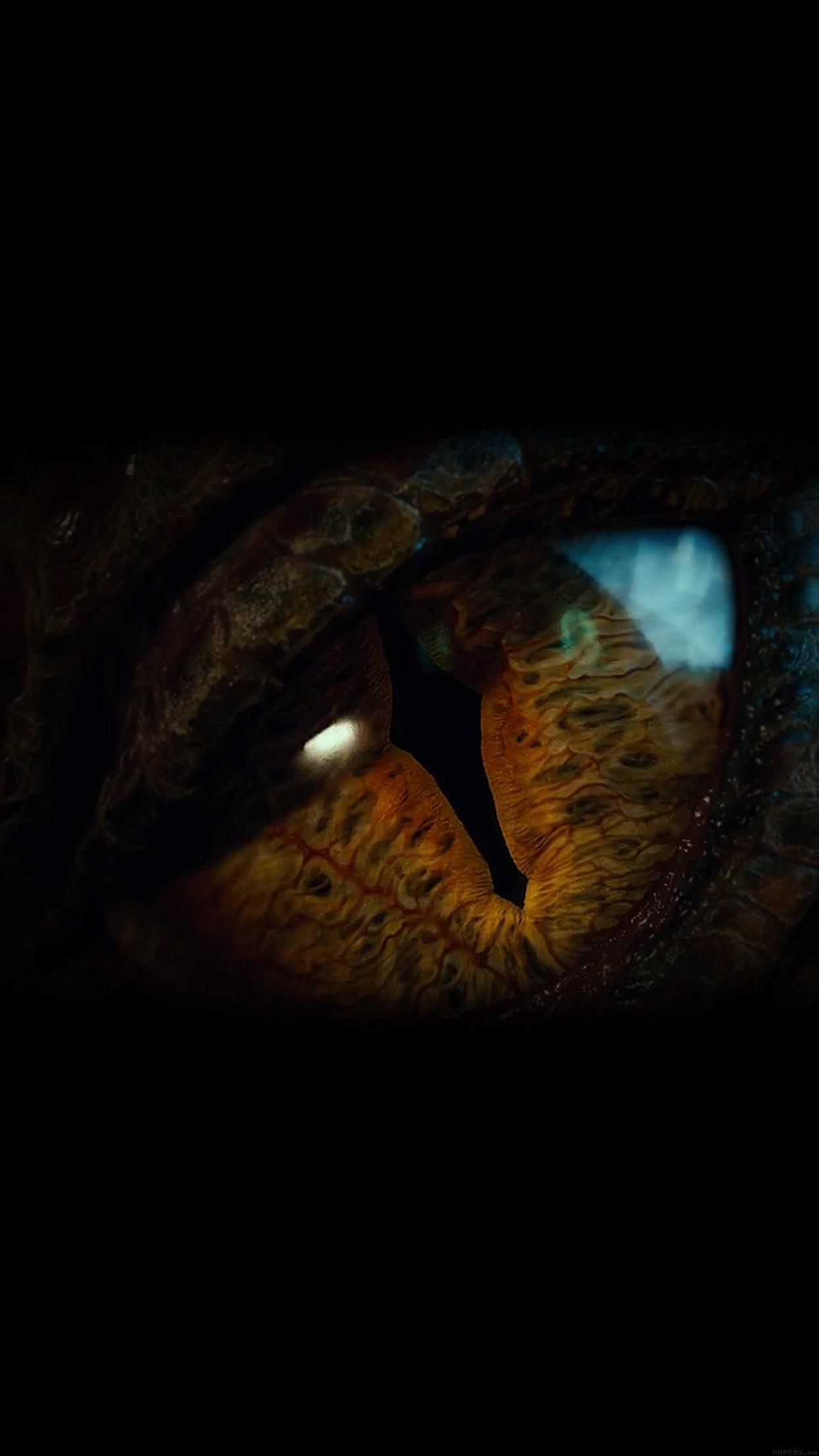 Iphone6papers Ah32 Eye Dragon Hobbit The Battle Five