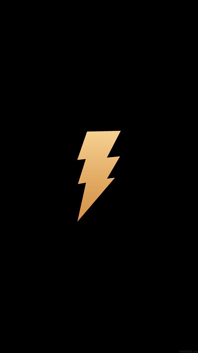 Papers.co-iPhone5-iphone6-plus-wallpaper-ah36-thunder-bolt-minimal-dark-logo-art