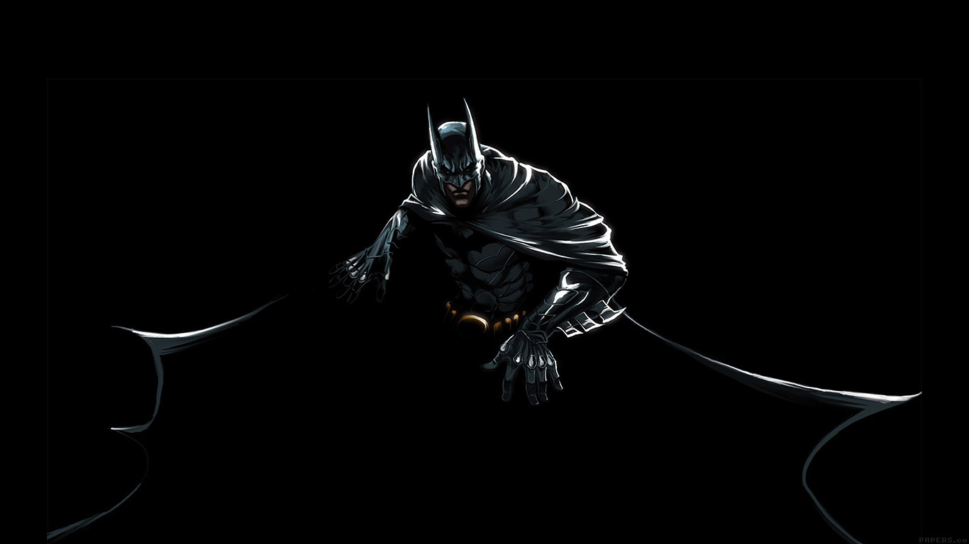 iPapers.co-Apple-iPhone-iPad-Macbook-iMac-wallpaper-ah37-batman-dark-hero-pose-illust-art-wallpaper