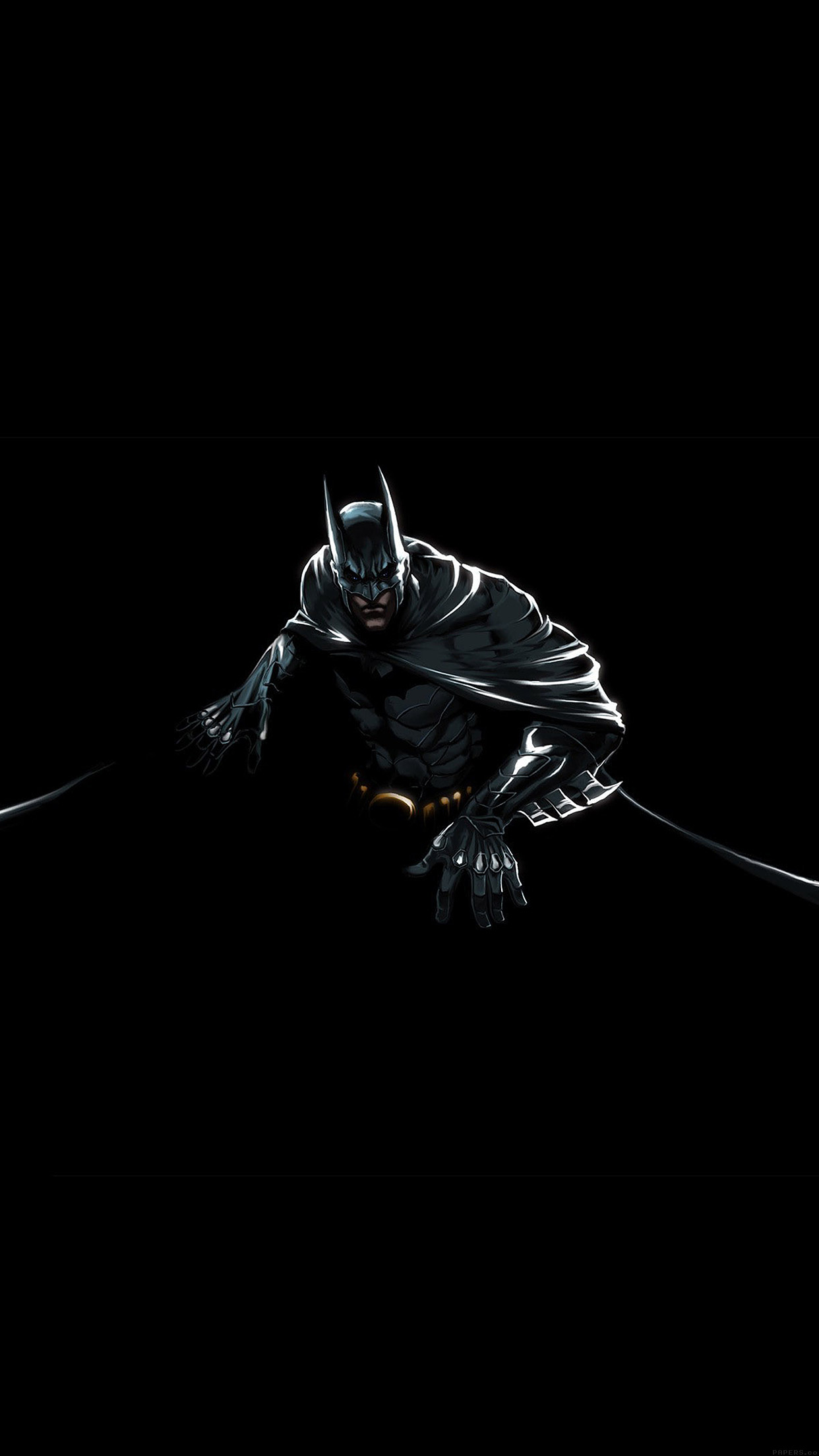 ah37-batman-dark-hero-pose-illust-art - Papers.co