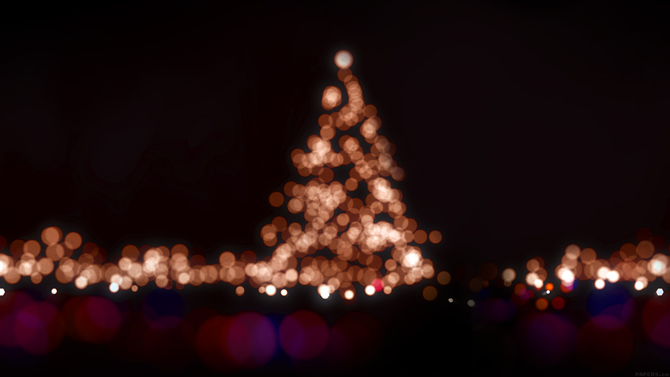 ah38-christmas-lights-bokeh-love-dark-night - Papers.co