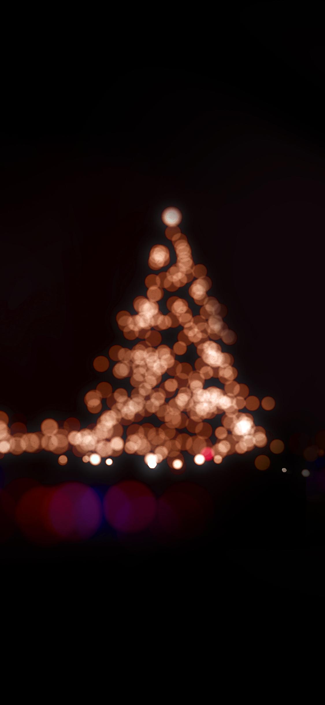 Iphonexpapers Ah38 Christmas Lights Bokeh Love Dark Night