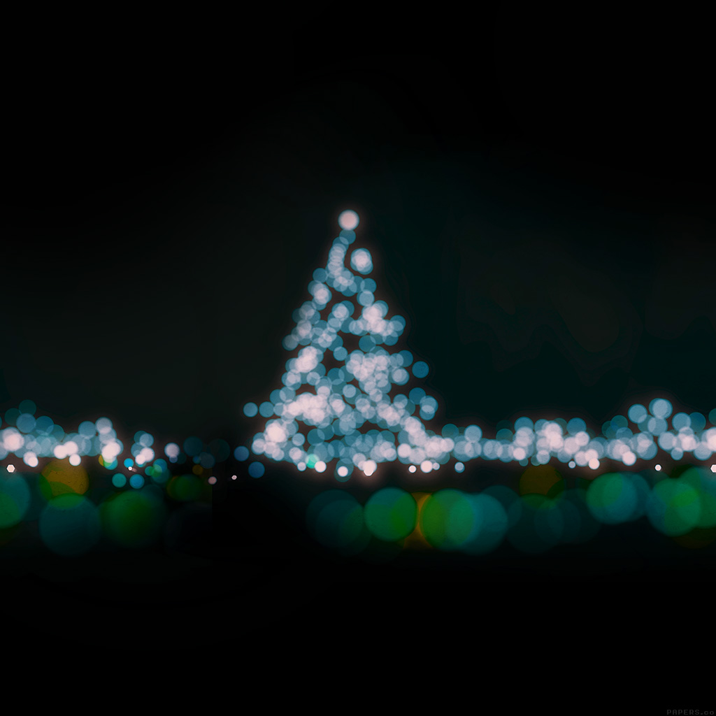 android-wallpaper-ah39-christmas-lights-bokeh-blue-love-dark-night-wallpaper