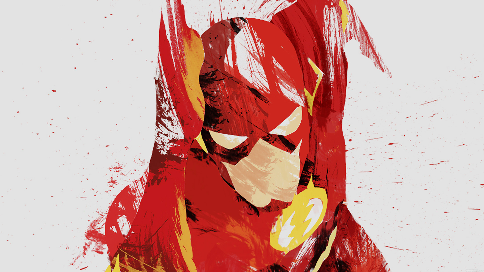 ah41-flash-speed-hero-illust-minimal-art - Papers.co