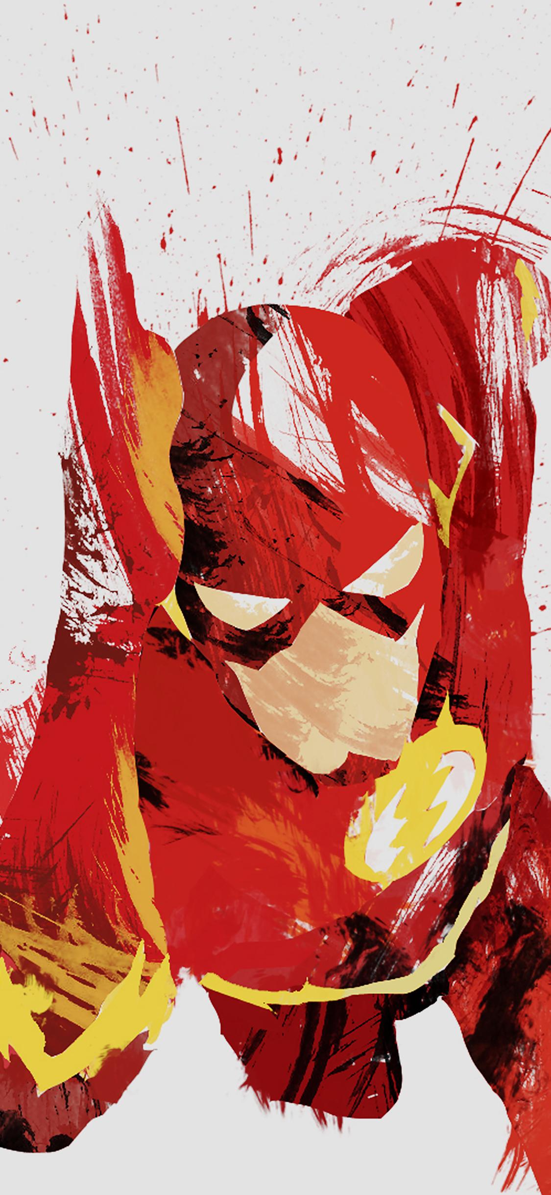 iPhoneXpapers.com-Apple-iPhone-wallpaper-ah41-flash-speed-hero-illust-minimal-art