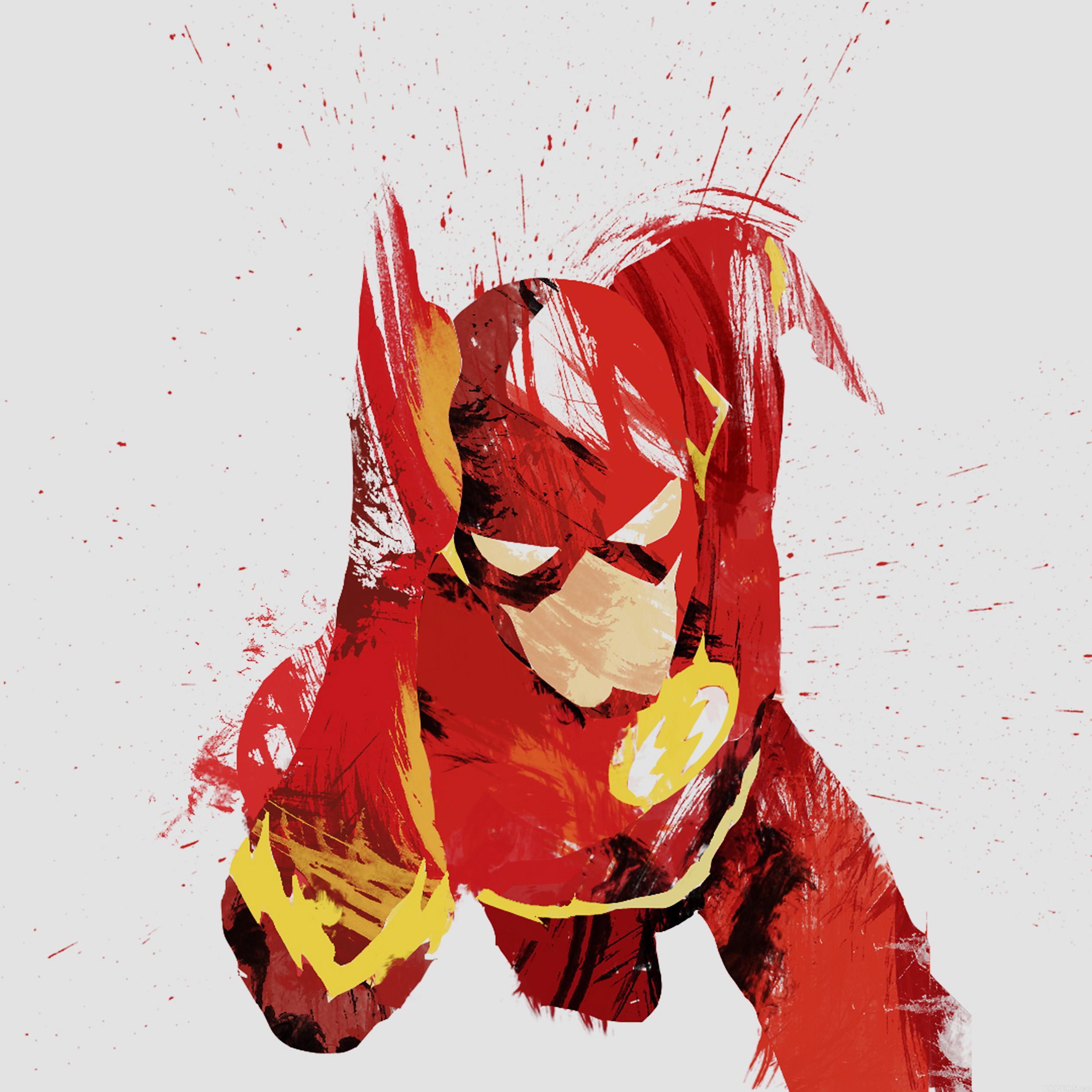 Wallpaper Iphone Superhero: Ah41-flash-speed-hero-illust-minimal-art