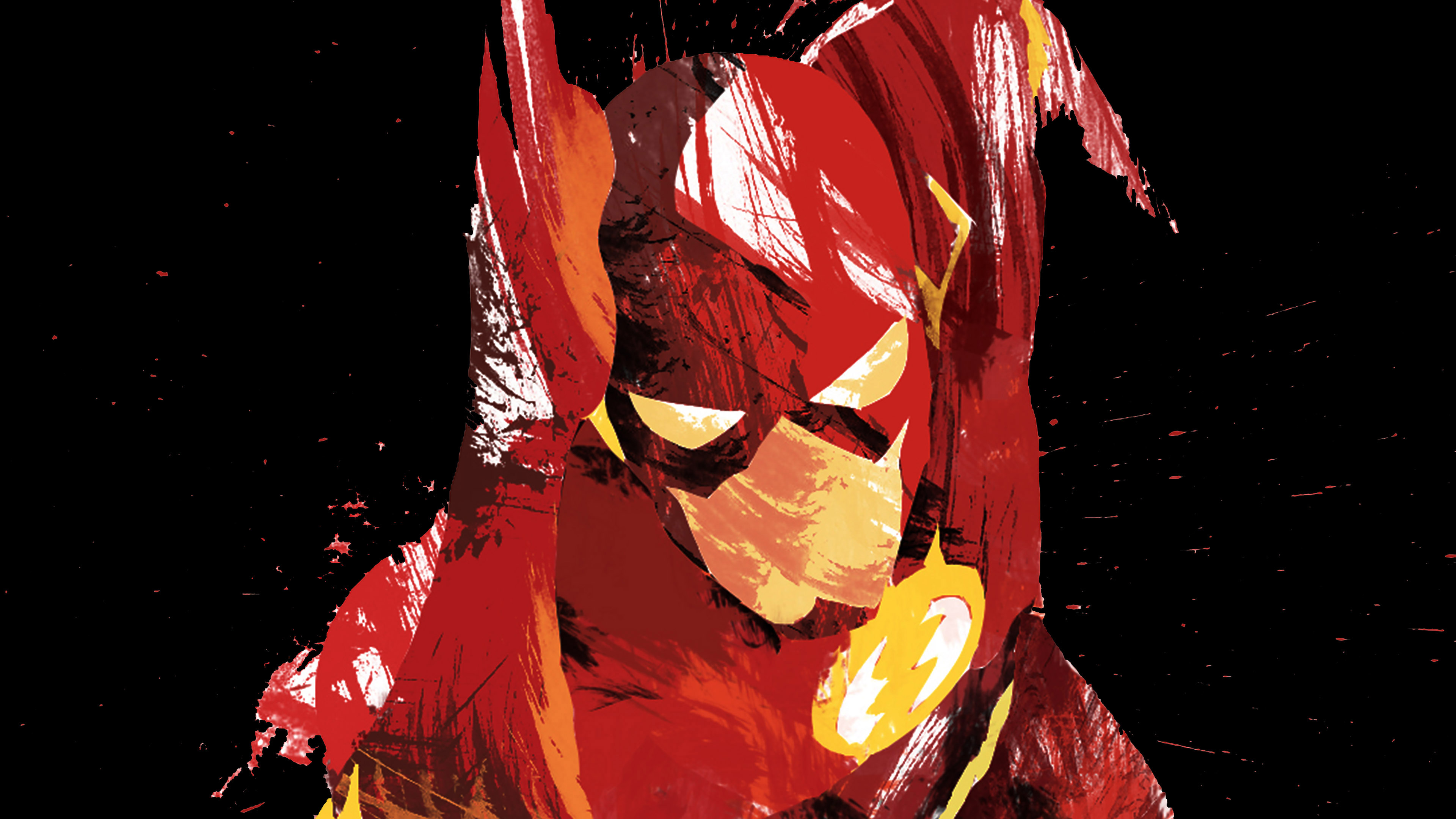 ah42-flash-speed-dark-hero-illust-minimal-art - Papers.co