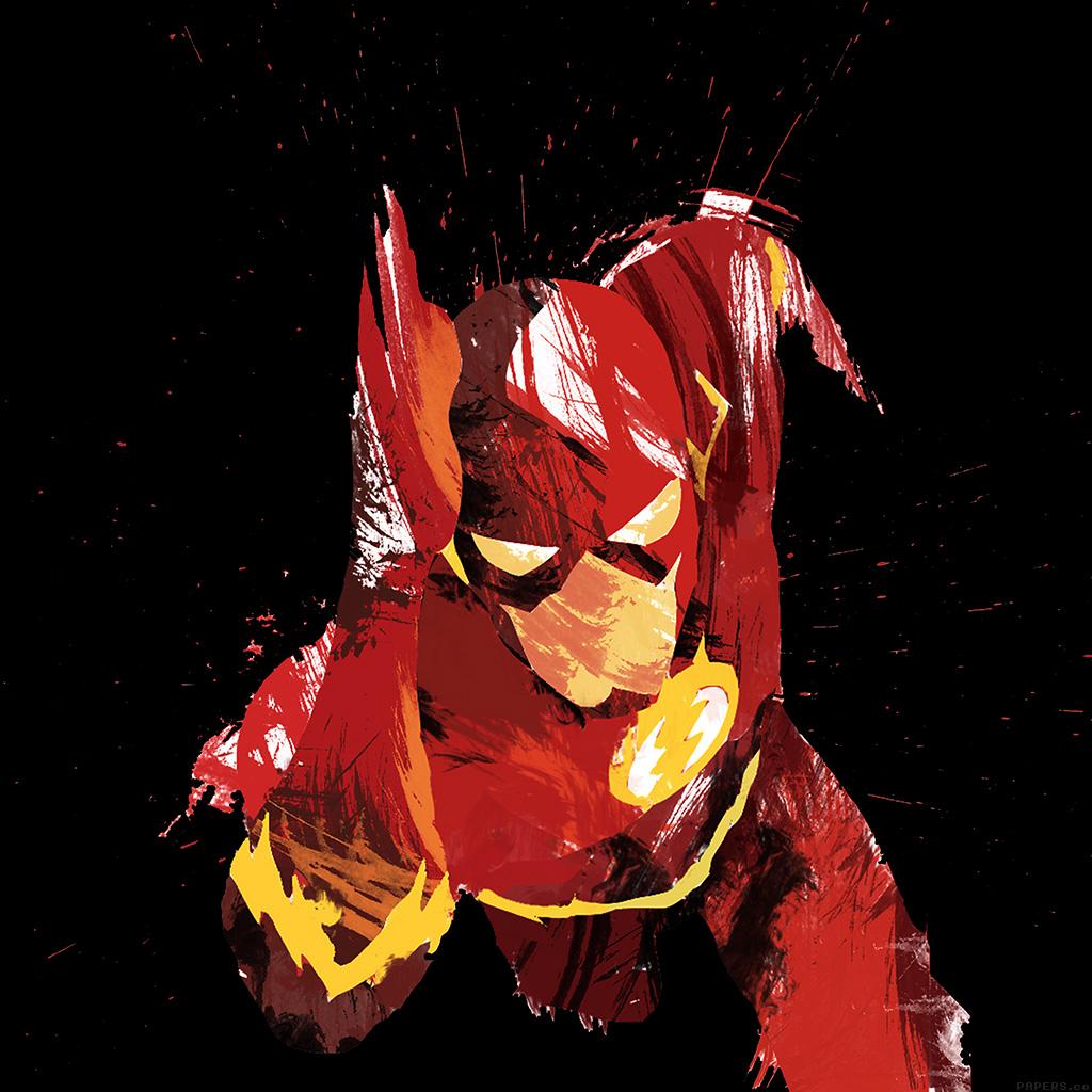 android-wallpaper-ah42-flash-speed-dark-hero-illust-minimal-art-wallpaper
