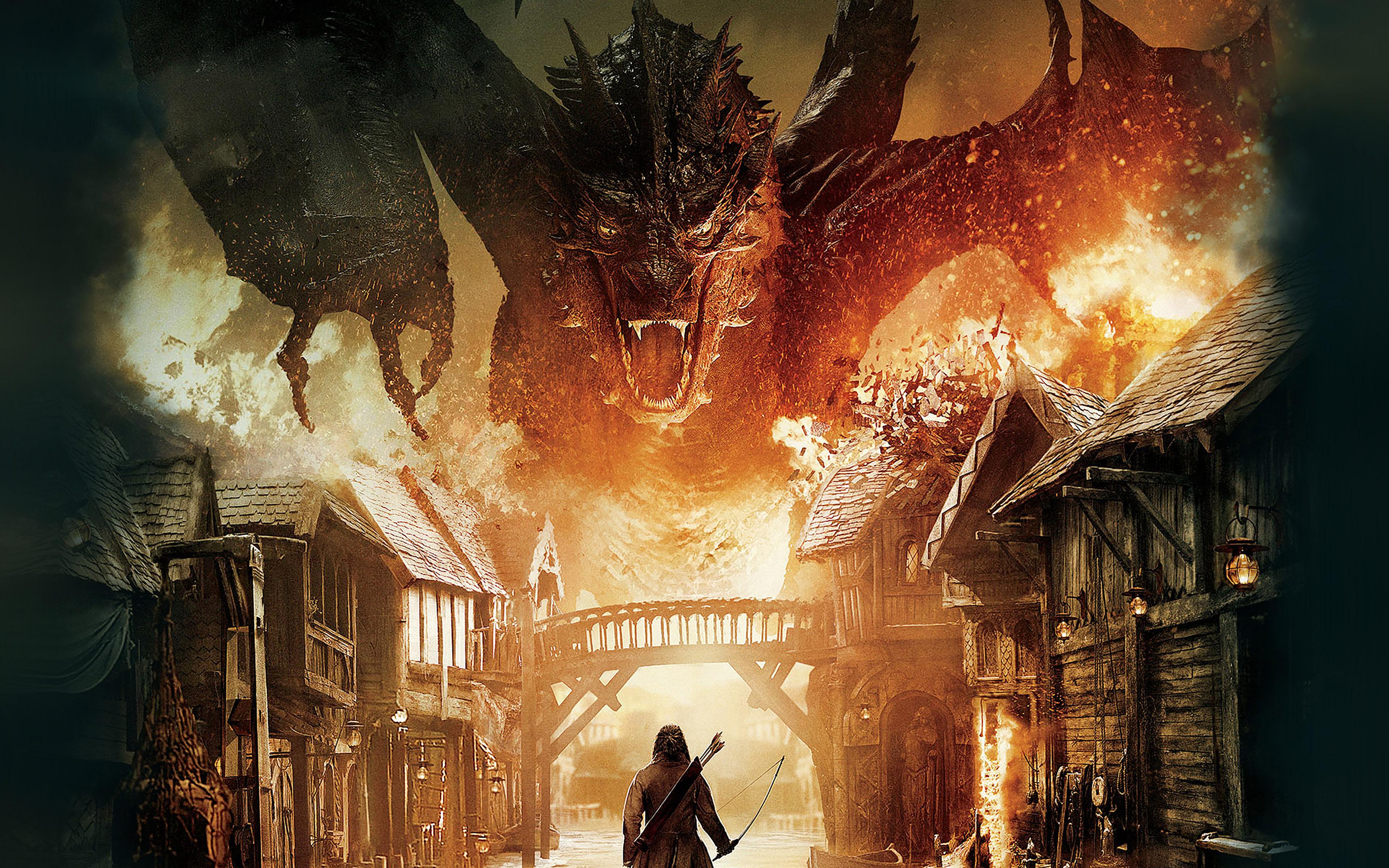 ah54-hobbit-the-battle-five-armies-art-poster - Papers.co