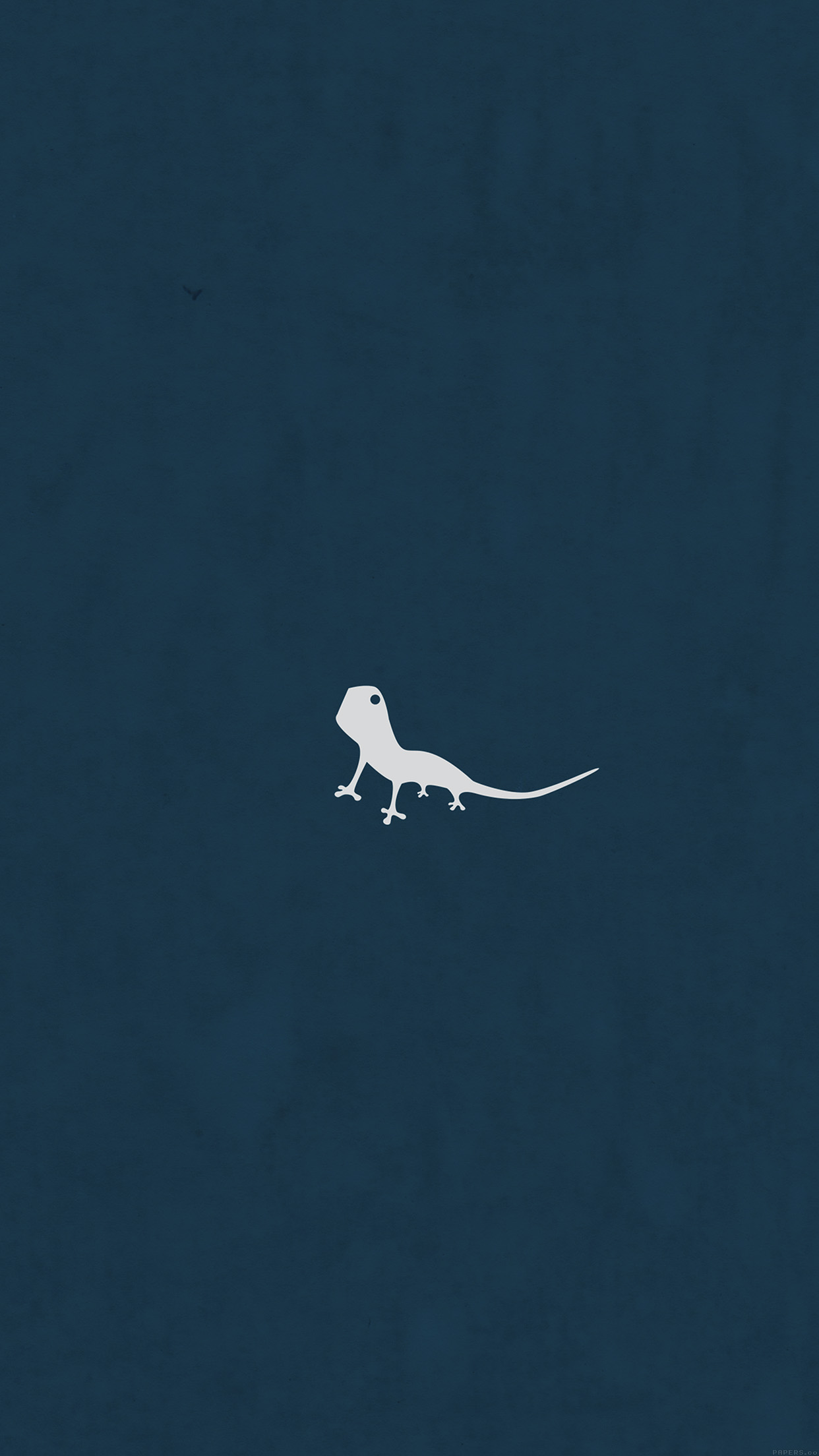 Iphonexpapers Ah55 Lizard Blue Animal Minimal Simple Art