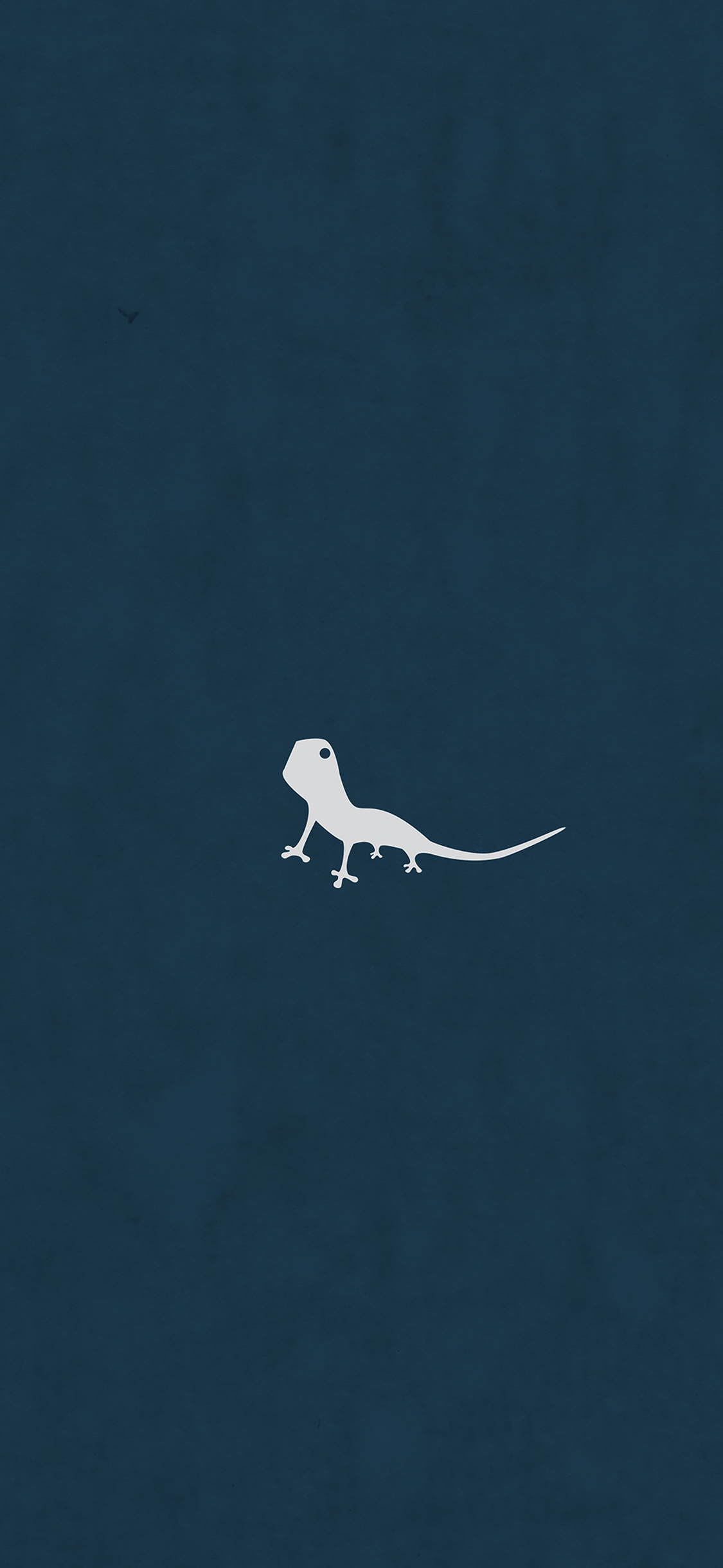 iPhoneXpapers.com-Apple-iPhone-wallpaper-ah55-lizard-blue-animal-minimal-simple-art