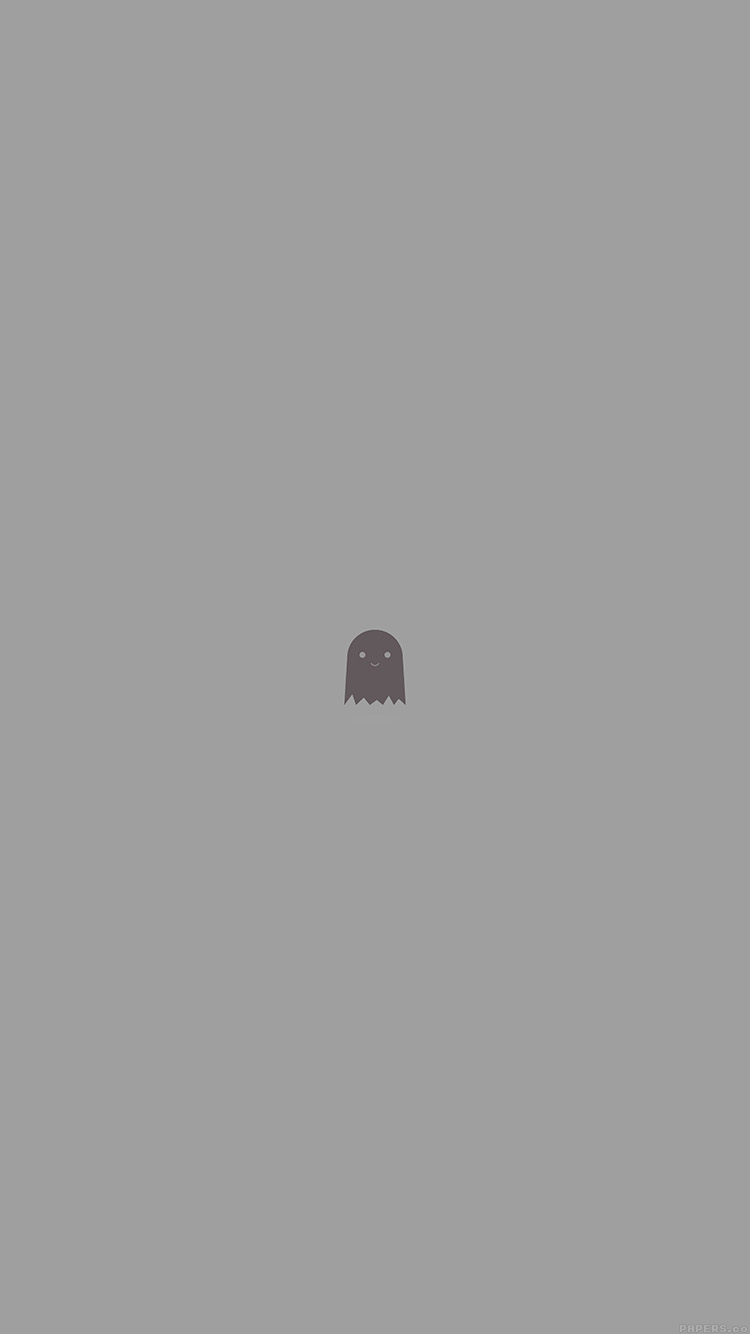 Papers.co-iPhone5-iphone6-plus-wallpaper-ah63-cute-ghost-art-character-illust-minimal-simple