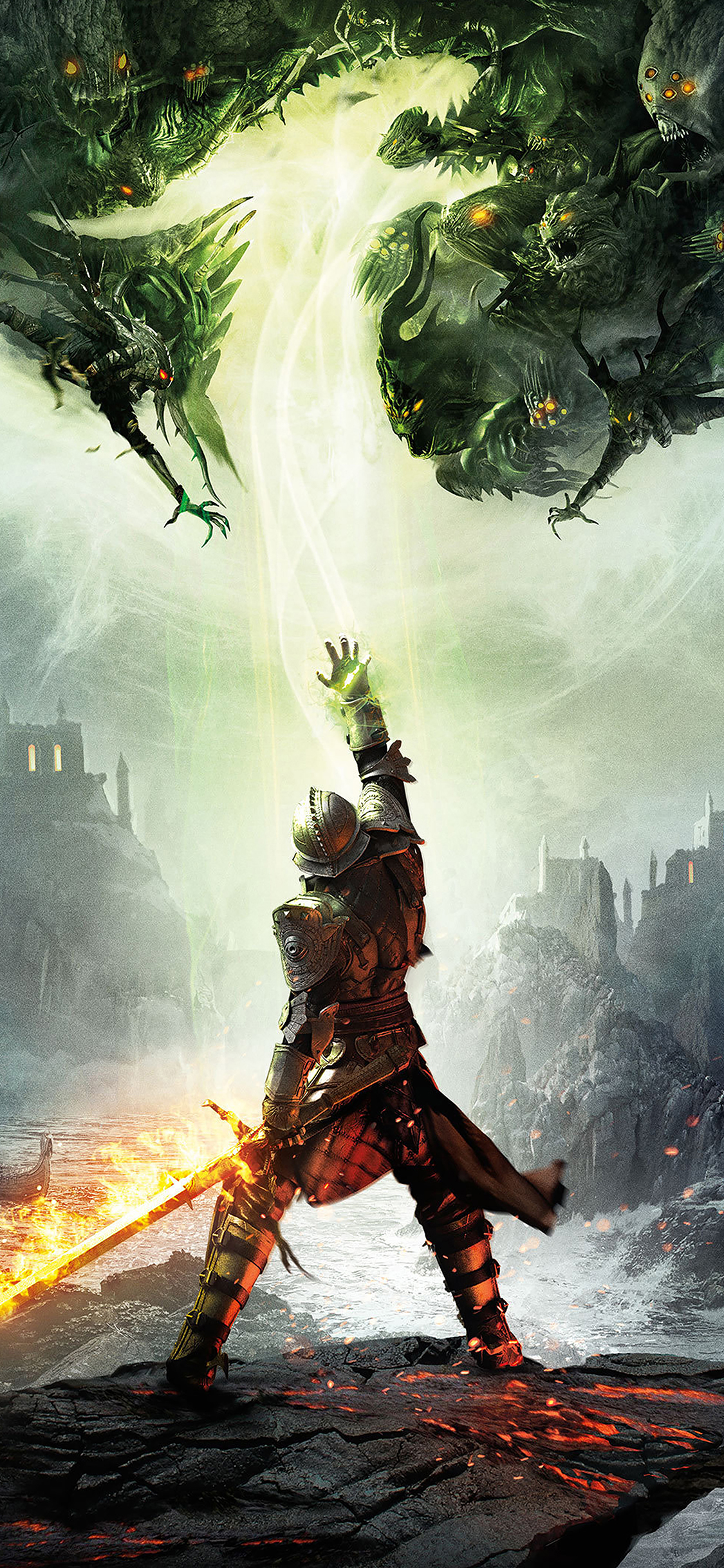 Ah66 Dragon Age Inquisition Game Illust Art Electronic Papers Co