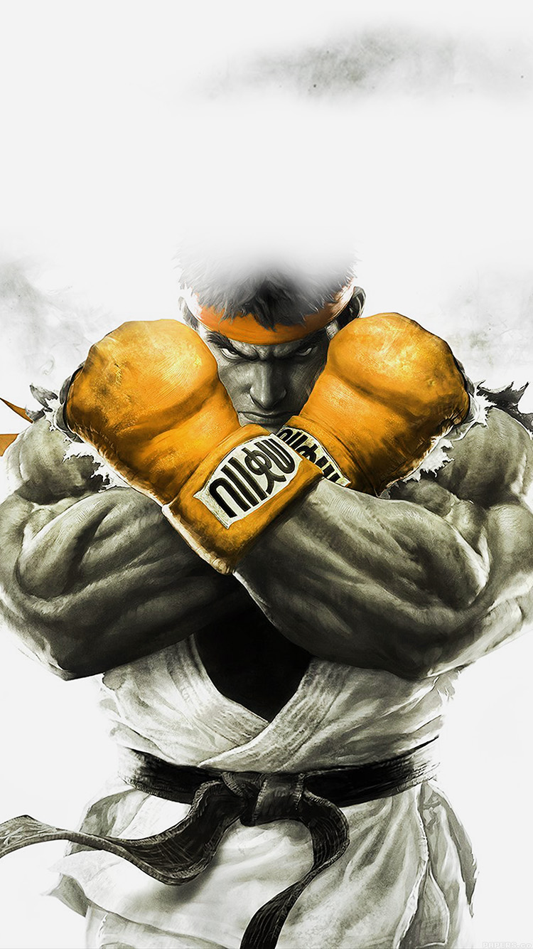 iPhone6papers.co-Apple-iPhone-6-iphone6-plus-wallpaper-ah70-street-fighter-gold-ryu-art-illust-game