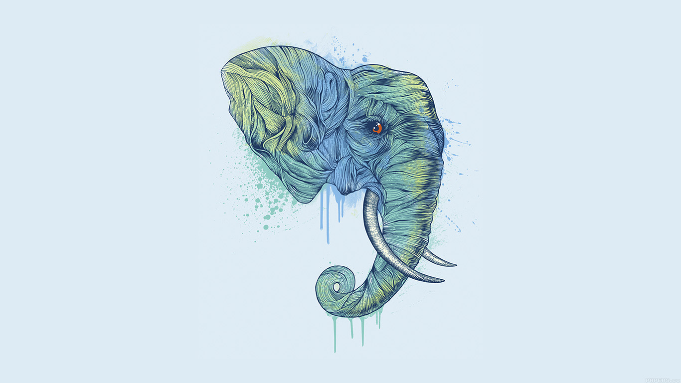 iPapers.co-Apple-iPhone-iPad-Macbook-iMac-wallpaper-ah76-elephant-art-illust-drawing-animal-wallpaper