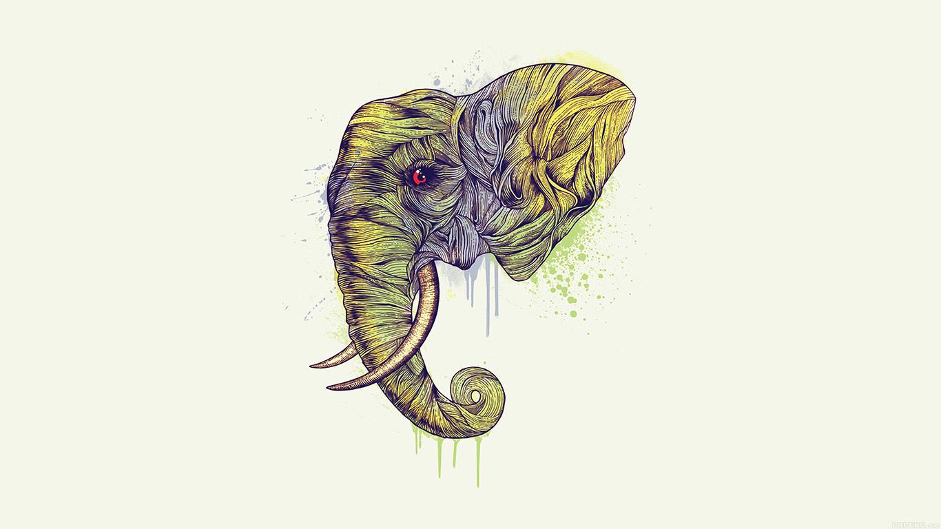 desktop-wallpaper-laptop-mac-macbook-air-ah77-elephant-art-yellow-illust-drawing-animal-wallpaper