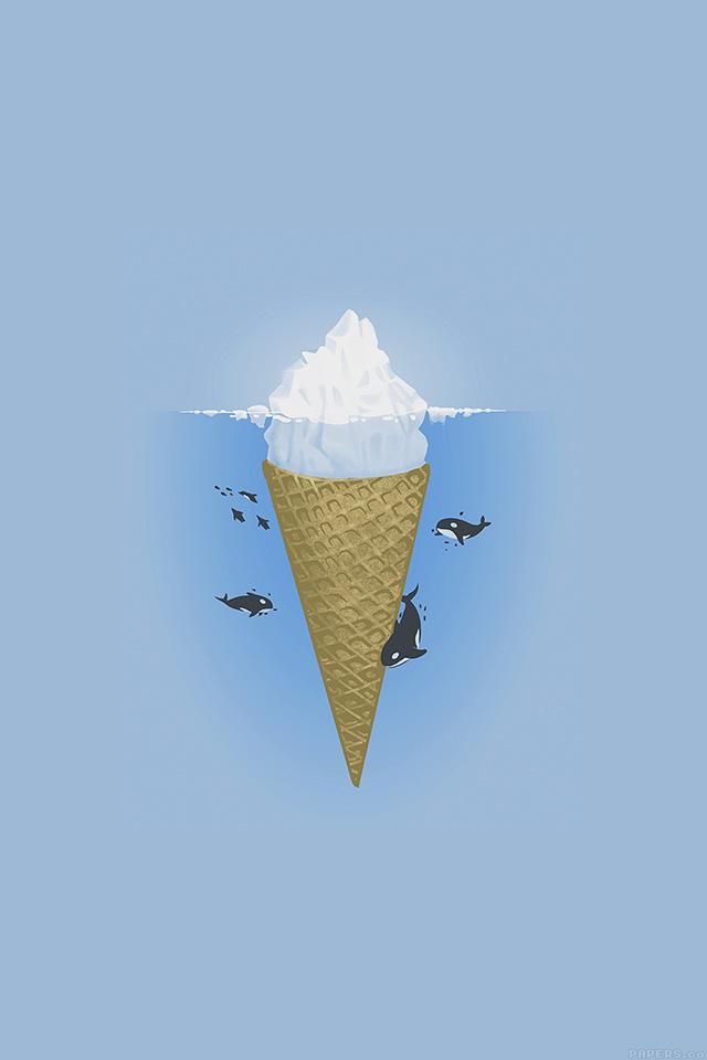 freeios7.com-iphone-4-iphone-5-ios7-wallpaperah79-whale-illust-sea-icecream-iceberg-iphone4