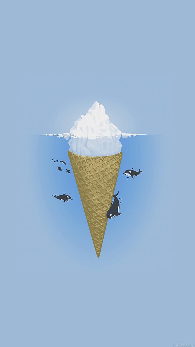 freeios8.com-iphone-4-5-6-plus-ipad-ios8-ah79-whale-illust-sea-icecream-iceberg
