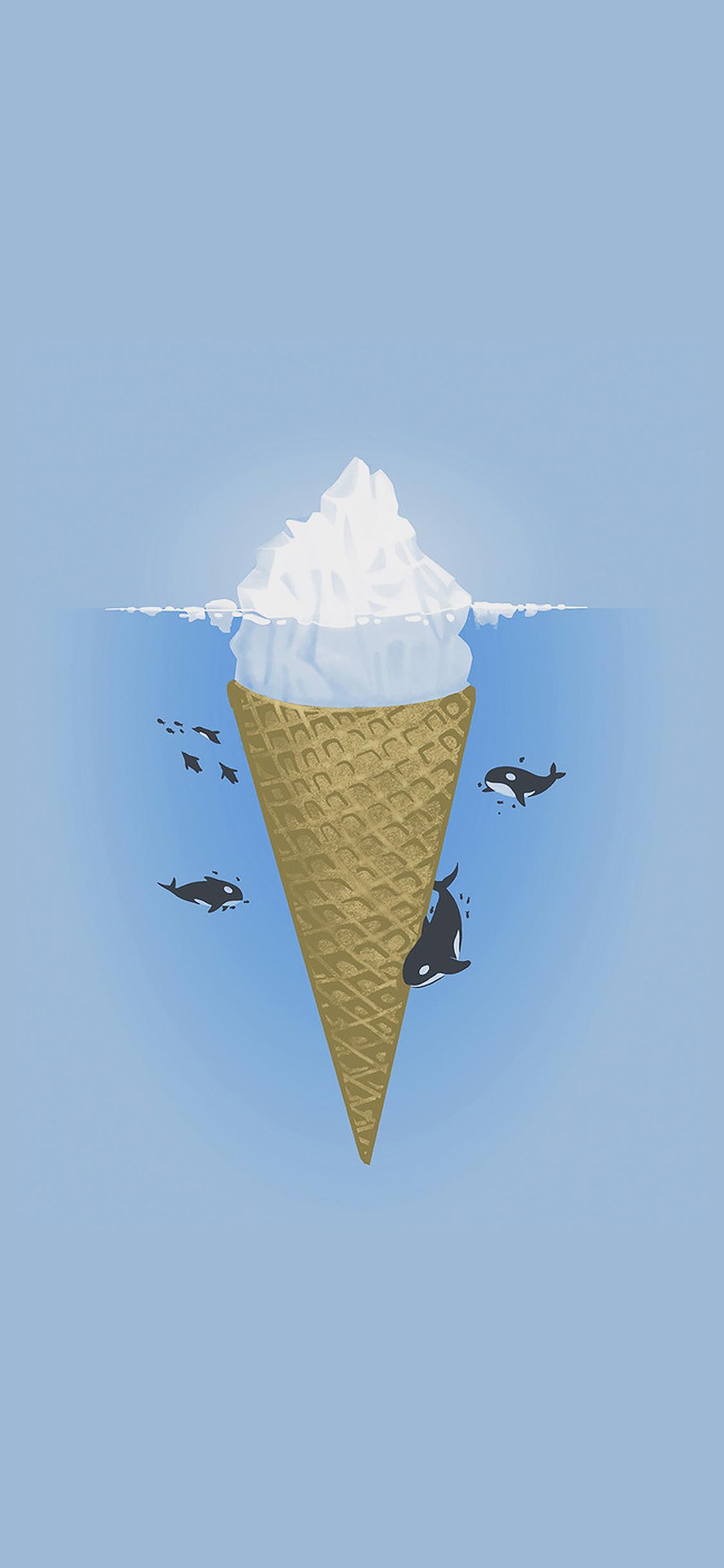 iPhoneXpapers.com-Apple-iPhone-wallpaper-ah79-whale-illust-sea-icecream-iceberg