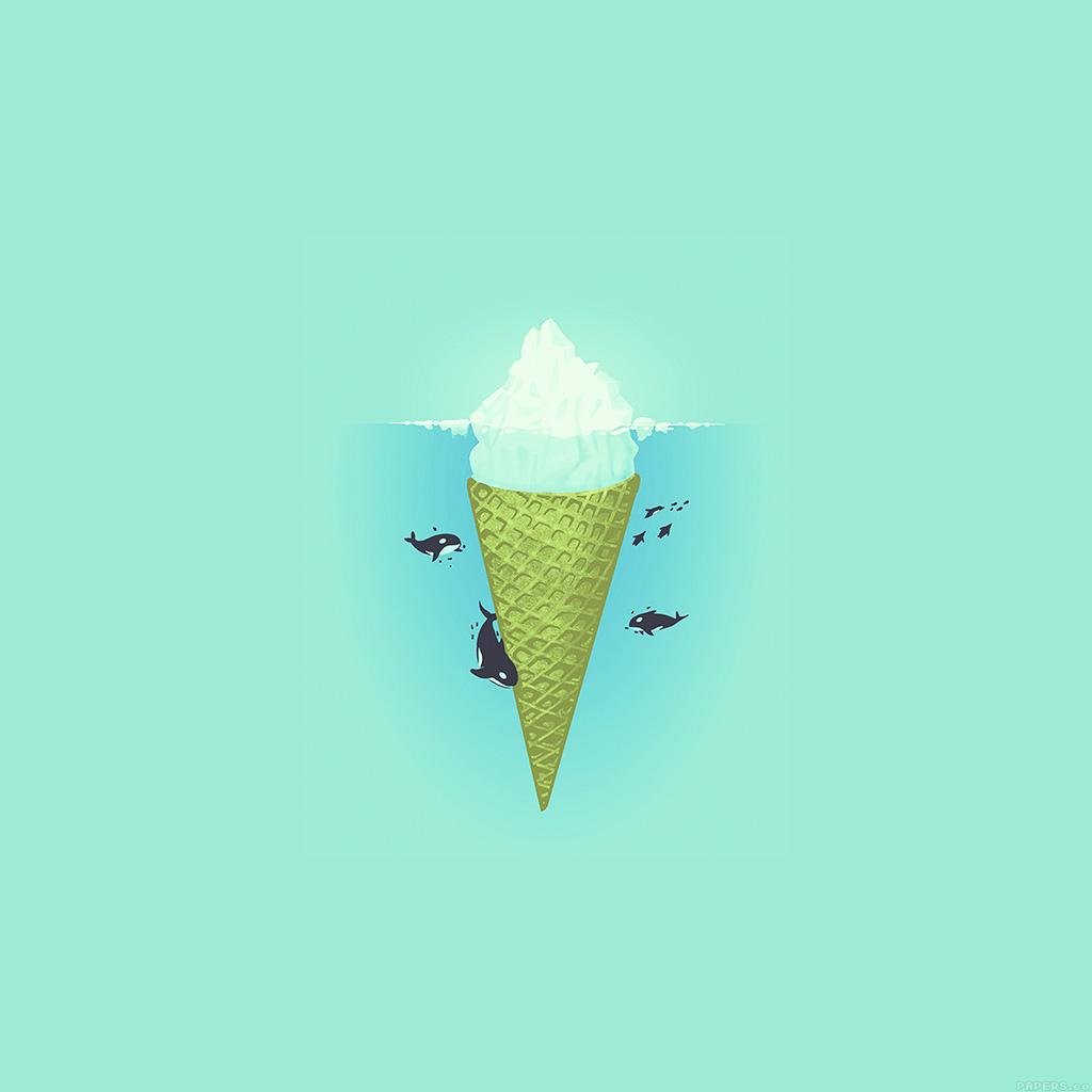 android-wallpaper-ah80-whale-illust-green-sea-icecream-iceberg-wallpaper