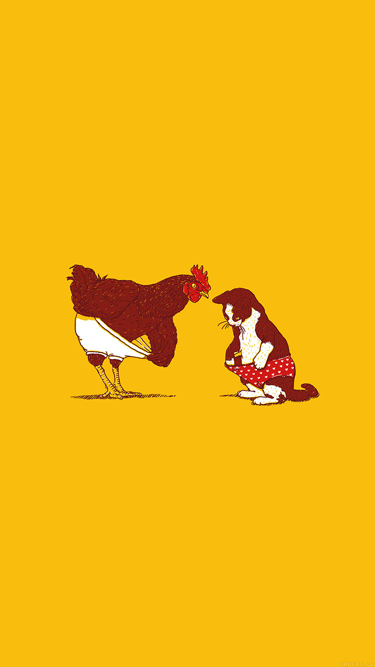 iPhone6papers.co-Apple-iPhone-6-iphone6-plus-wallpaper-ah82-cat-chicken-underwear-cute-illust-art