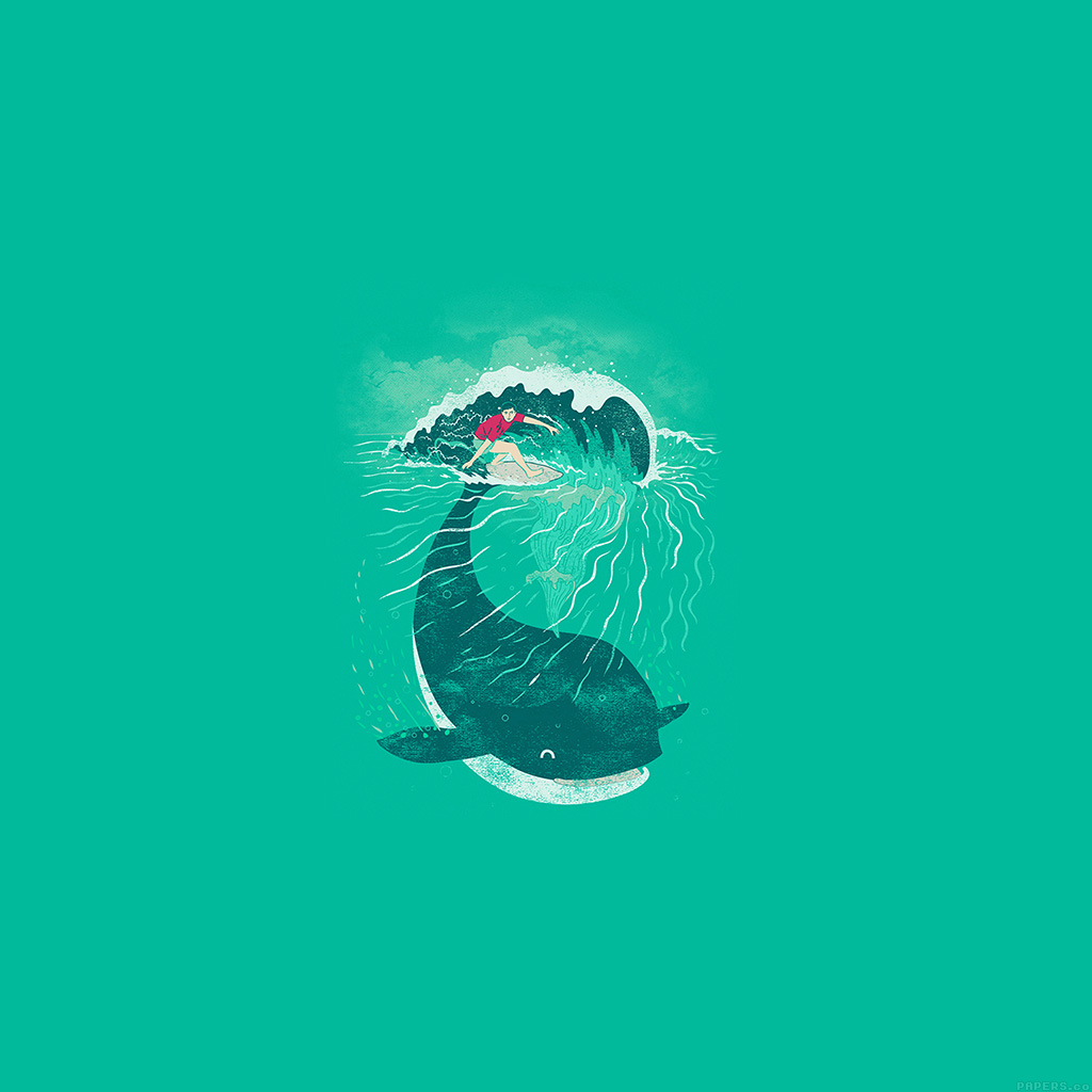 wallpaper-ah85-whale-surfer-wave-animal-illust-art-sea-wallpaper