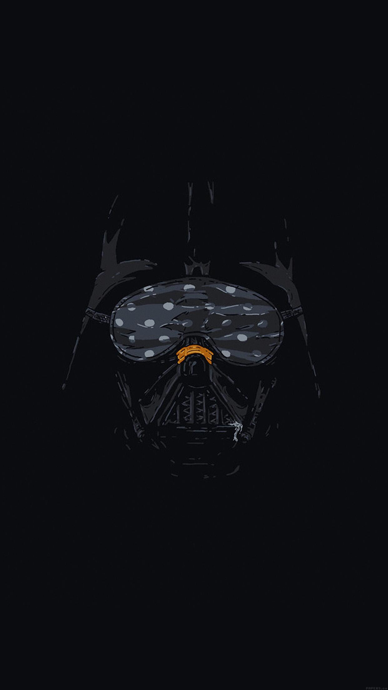 Iphonepapers Ah87 Darth Vader Minimal Starwars Illust Art