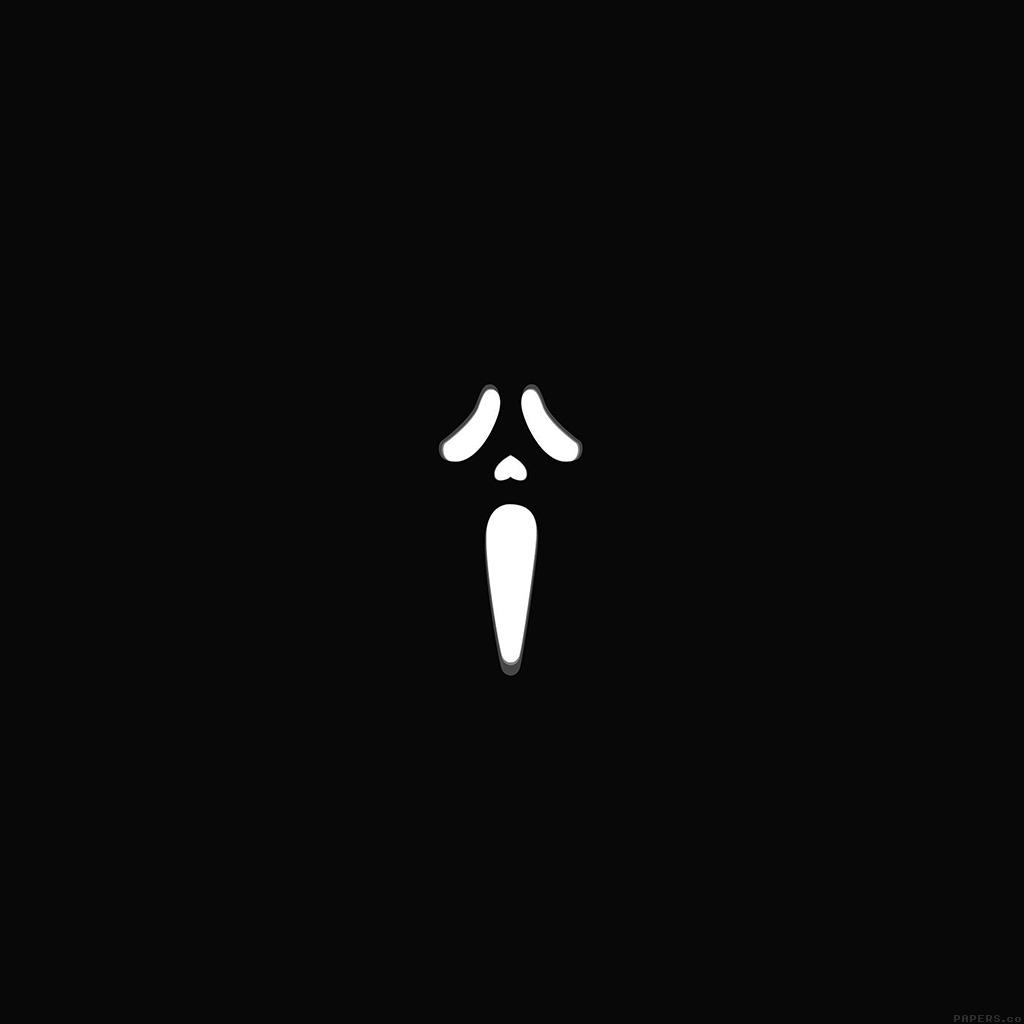 android-wallpaper-ah91-scream-film-dark-illust-minimal-wallpaper