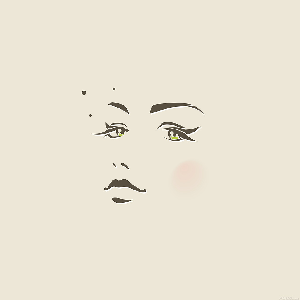 wallpaper-ah97-girl-face-illust-art-minimal-wallpaper