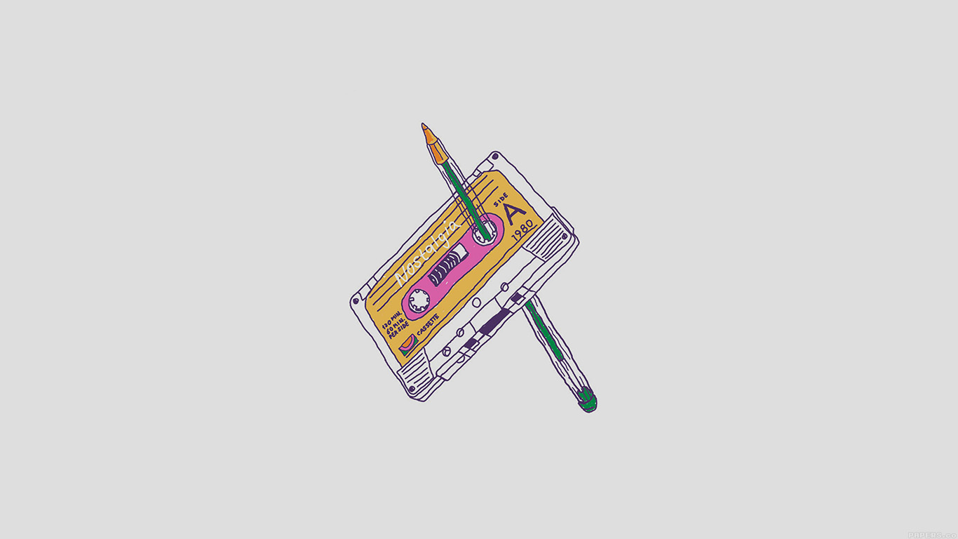 iPapers.co-Apple-iPhone-iPad-Macbook-iMac-wallpaper-ah98-cassette-tape-old-illust-minimal-wallpaper